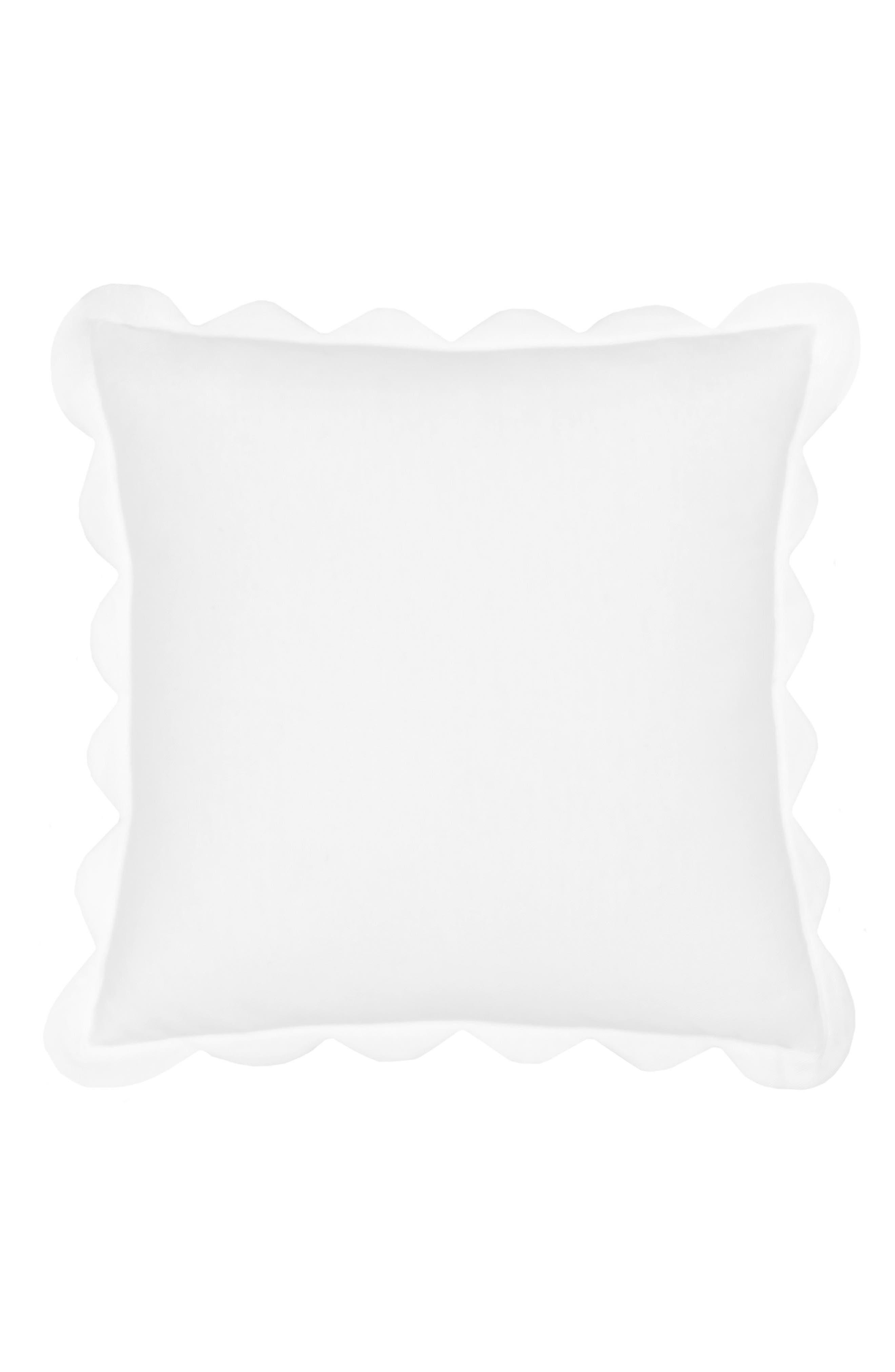 Summerville Scalloped Pillow,                         Main,                         color, 105