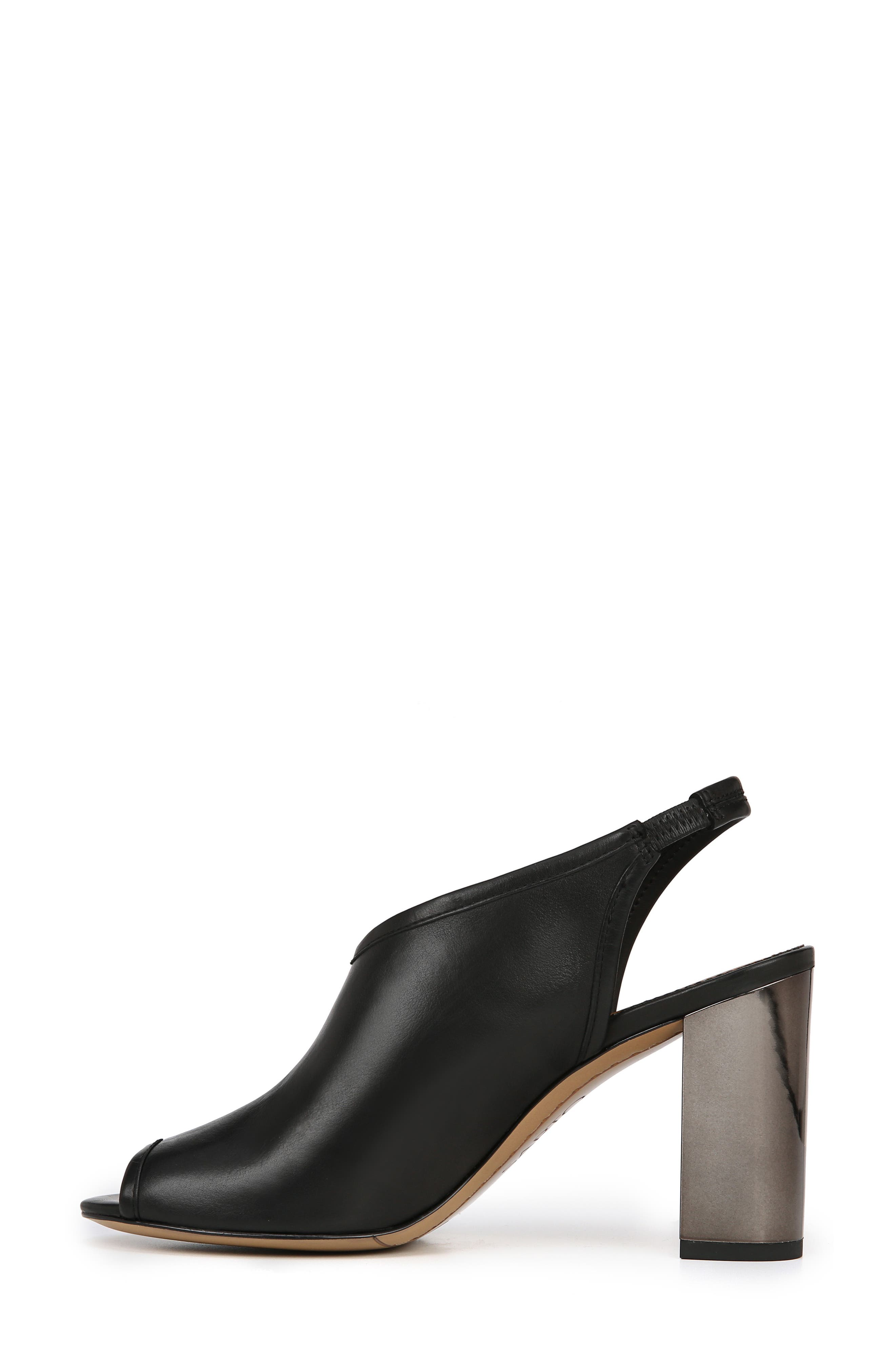 A-Osbourne Slingback Sandal,                             Alternate thumbnail 9, color,                             BLACK FOULARD LEATHER