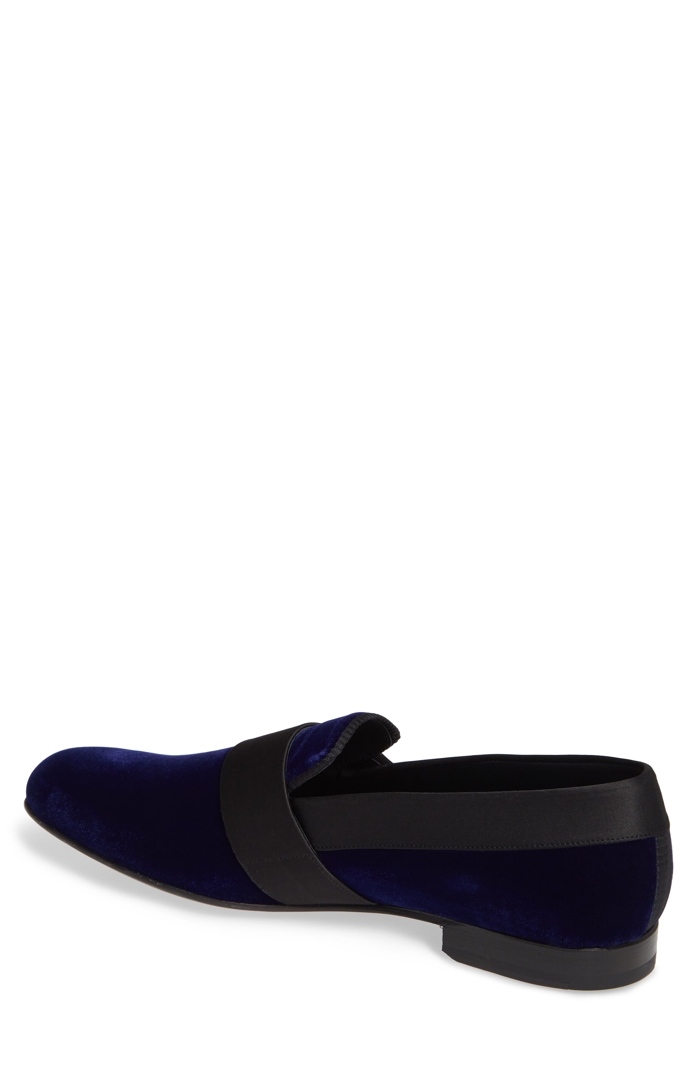 Palance Velvet Slip-On,                             Alternate thumbnail 2, color,                             BLUE VELVET