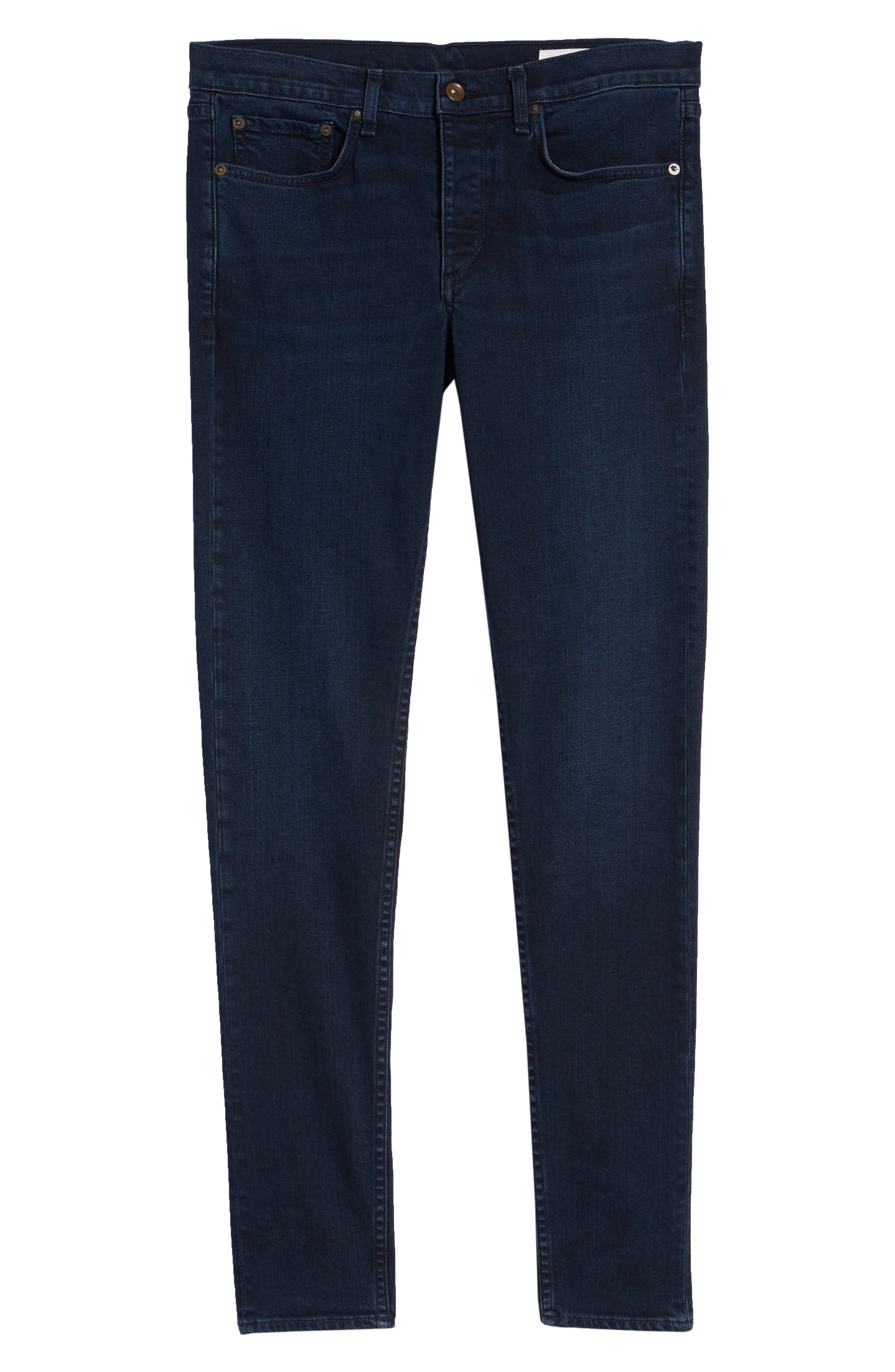 Fit 1 Skinny Fit Jeans,                             Alternate thumbnail 6, color,                             420