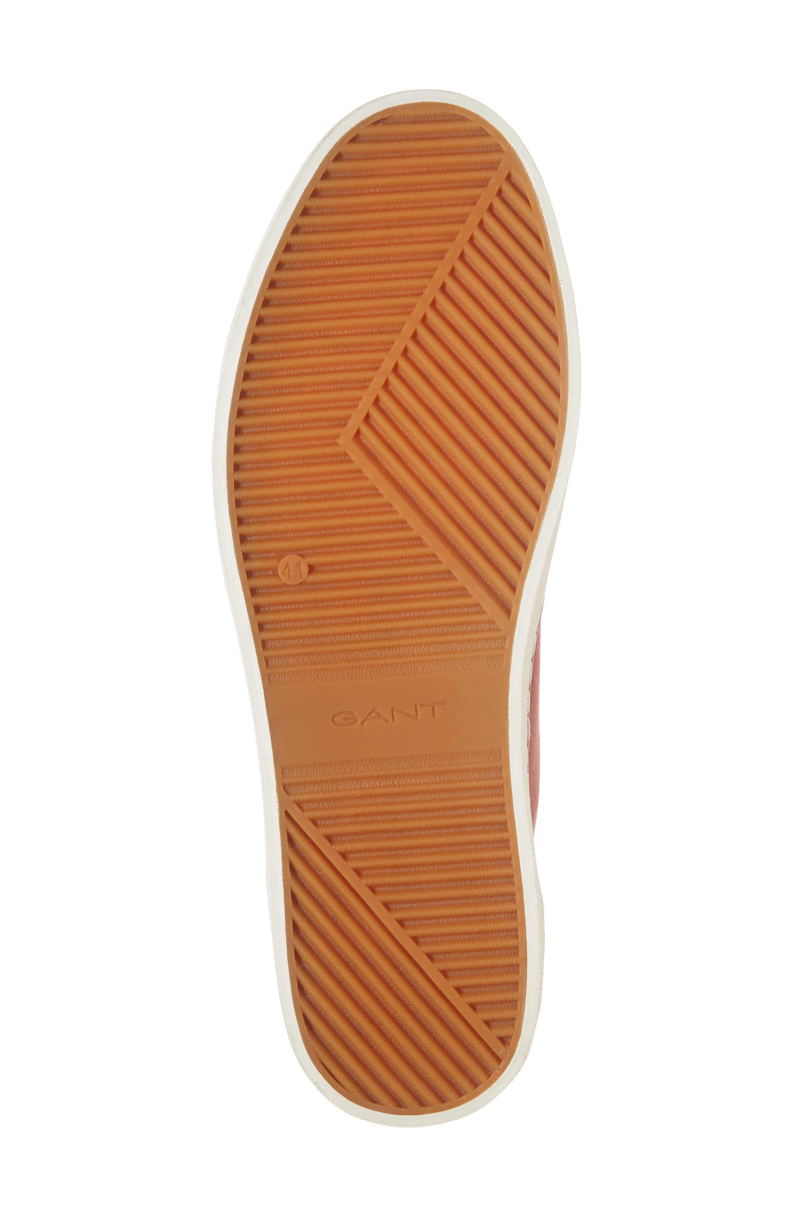 Bari Sneaker,                             Alternate thumbnail 6, color,                             RED TWILL