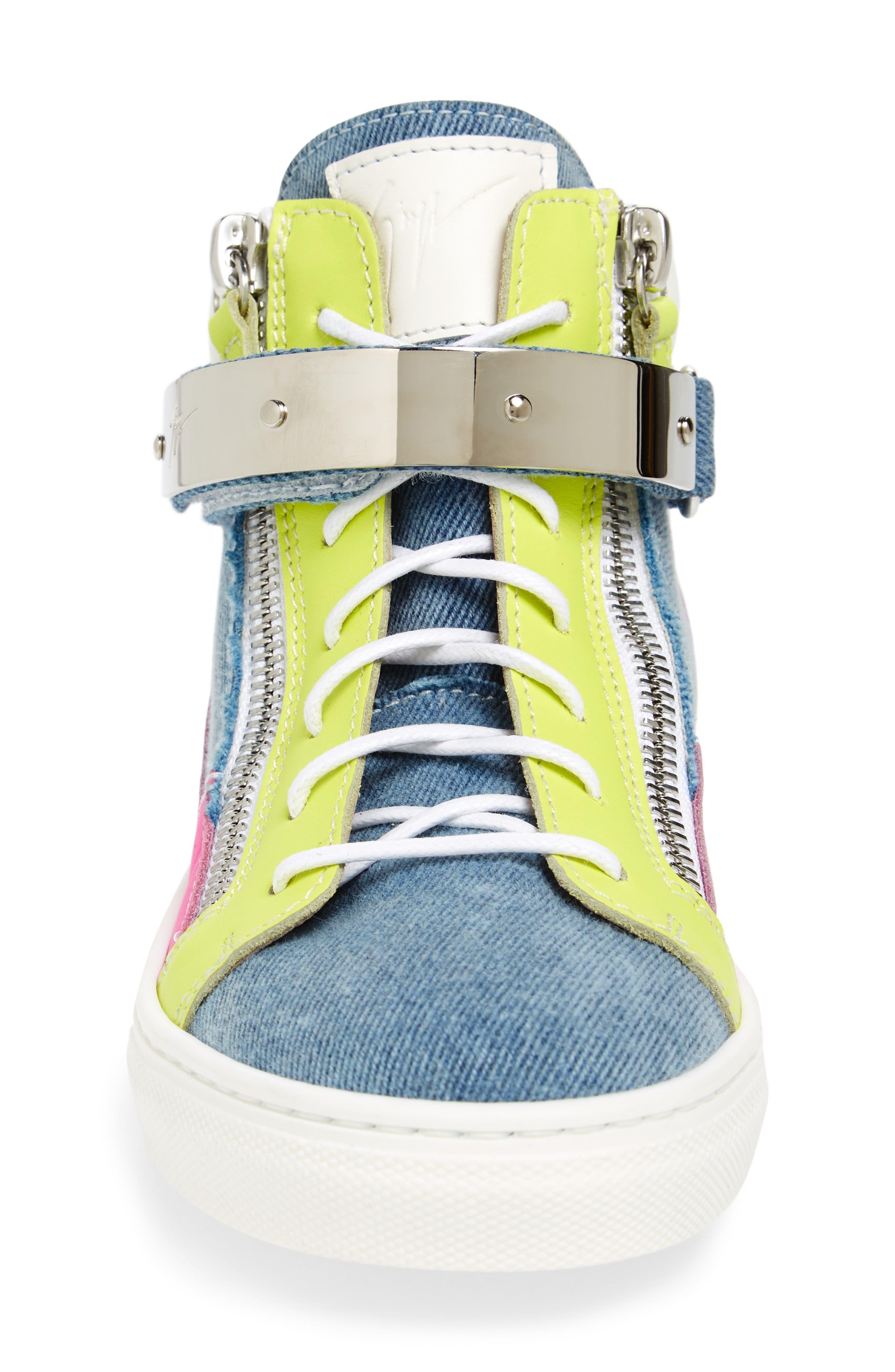London High Top Sneaker,                             Alternate thumbnail 4, color,                             400