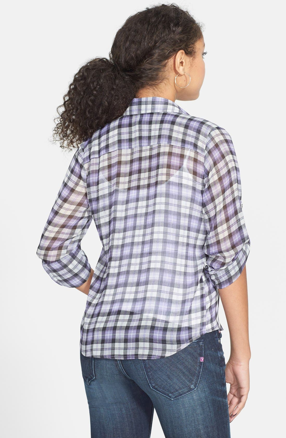 Plaid Shirt,                             Alternate thumbnail 3, color,                             500