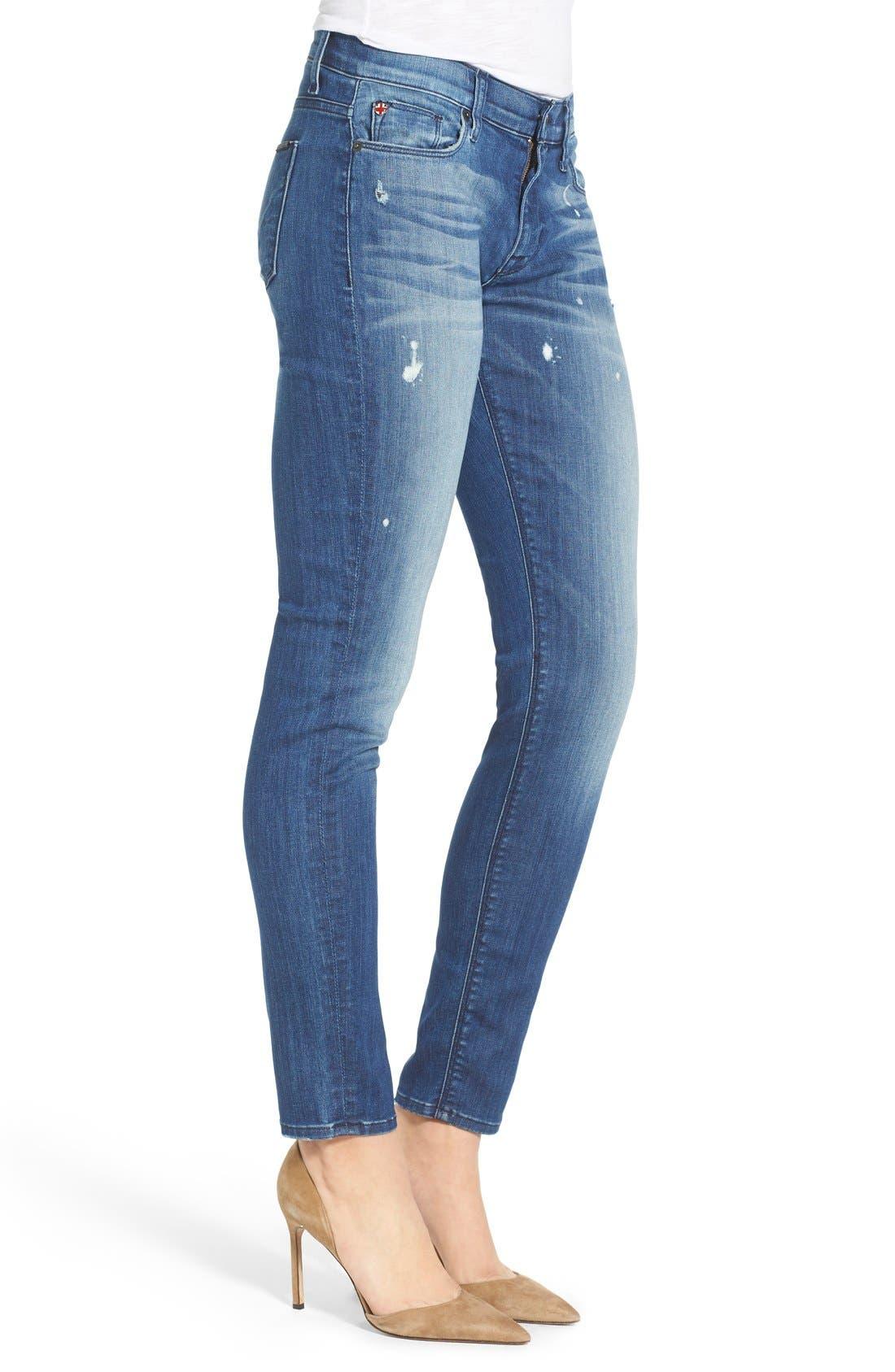 'Nico' Super Skinny Jeans,                             Alternate thumbnail 22, color,