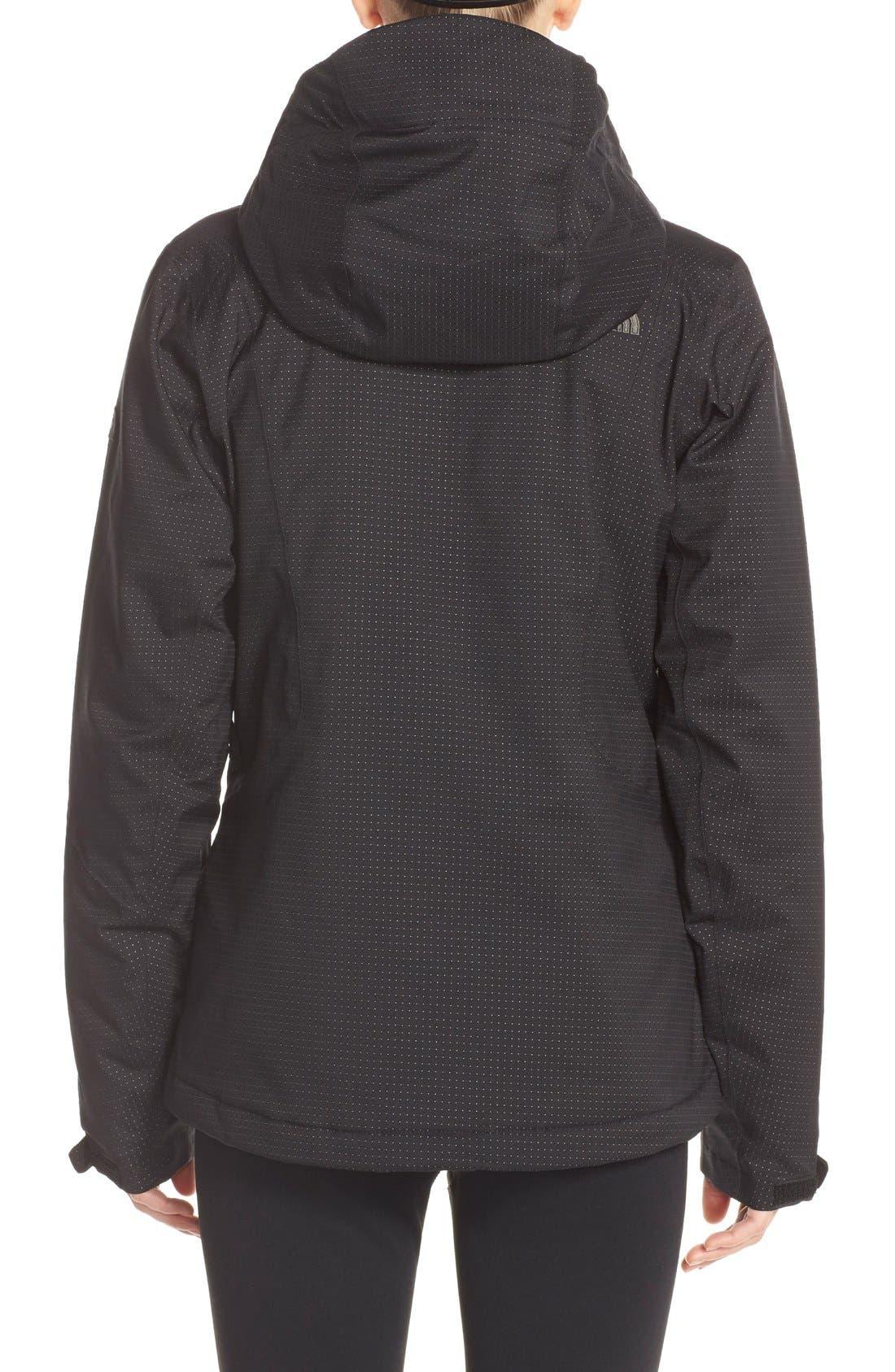 THE NORTH FACE,                             'Lulea' Waterpoof Heatseeker<sup>™</sup> Jacket,                             Alternate thumbnail 3, color,                             001