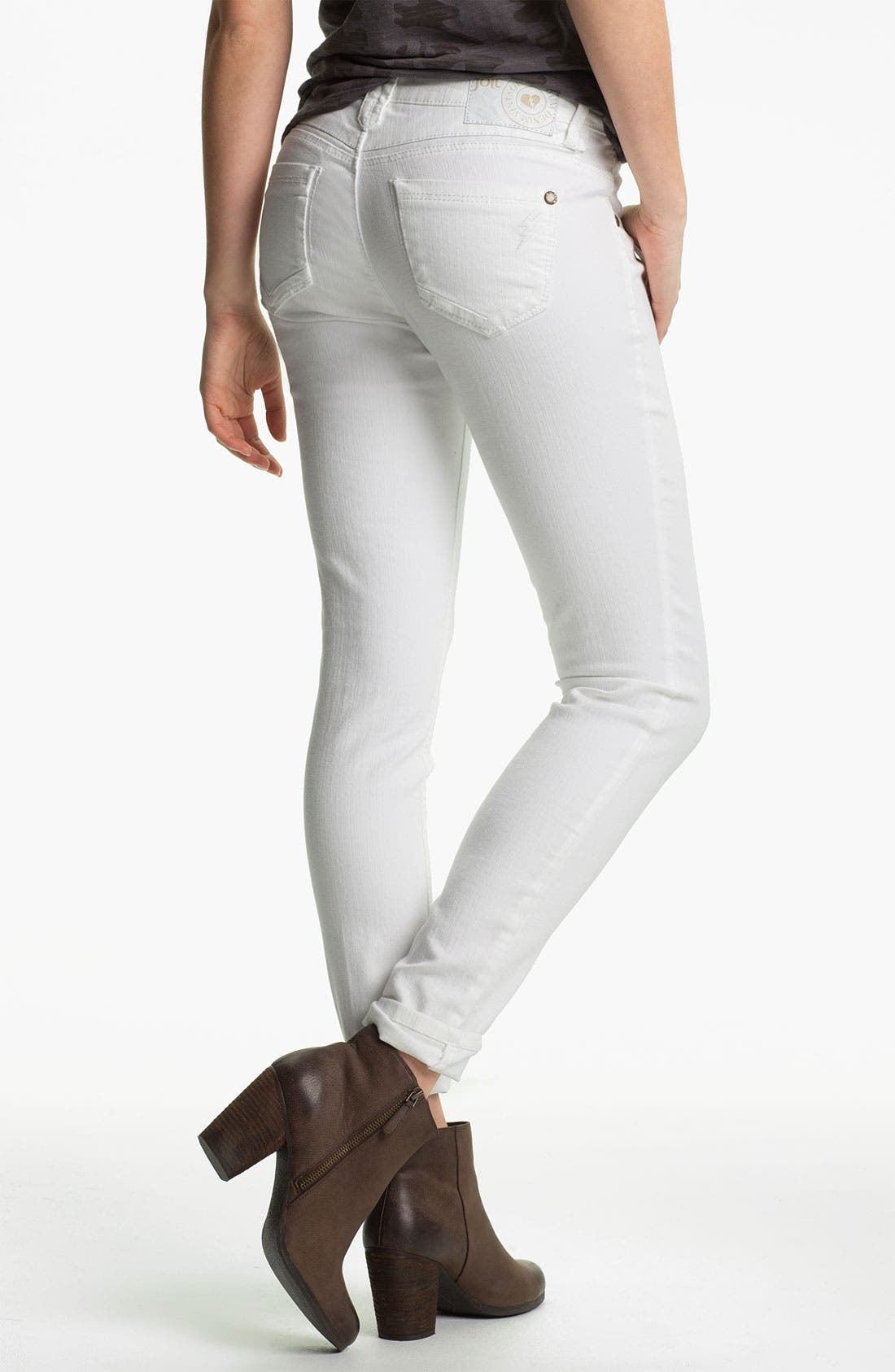 Skinny Jeans,                             Alternate thumbnail 3, color,                             101
