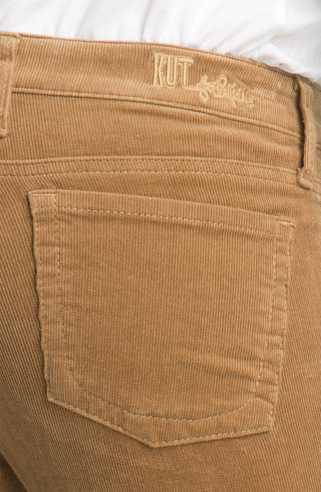 Baby Bootcut Corduroy Jeans,                             Alternate thumbnail 39, color,