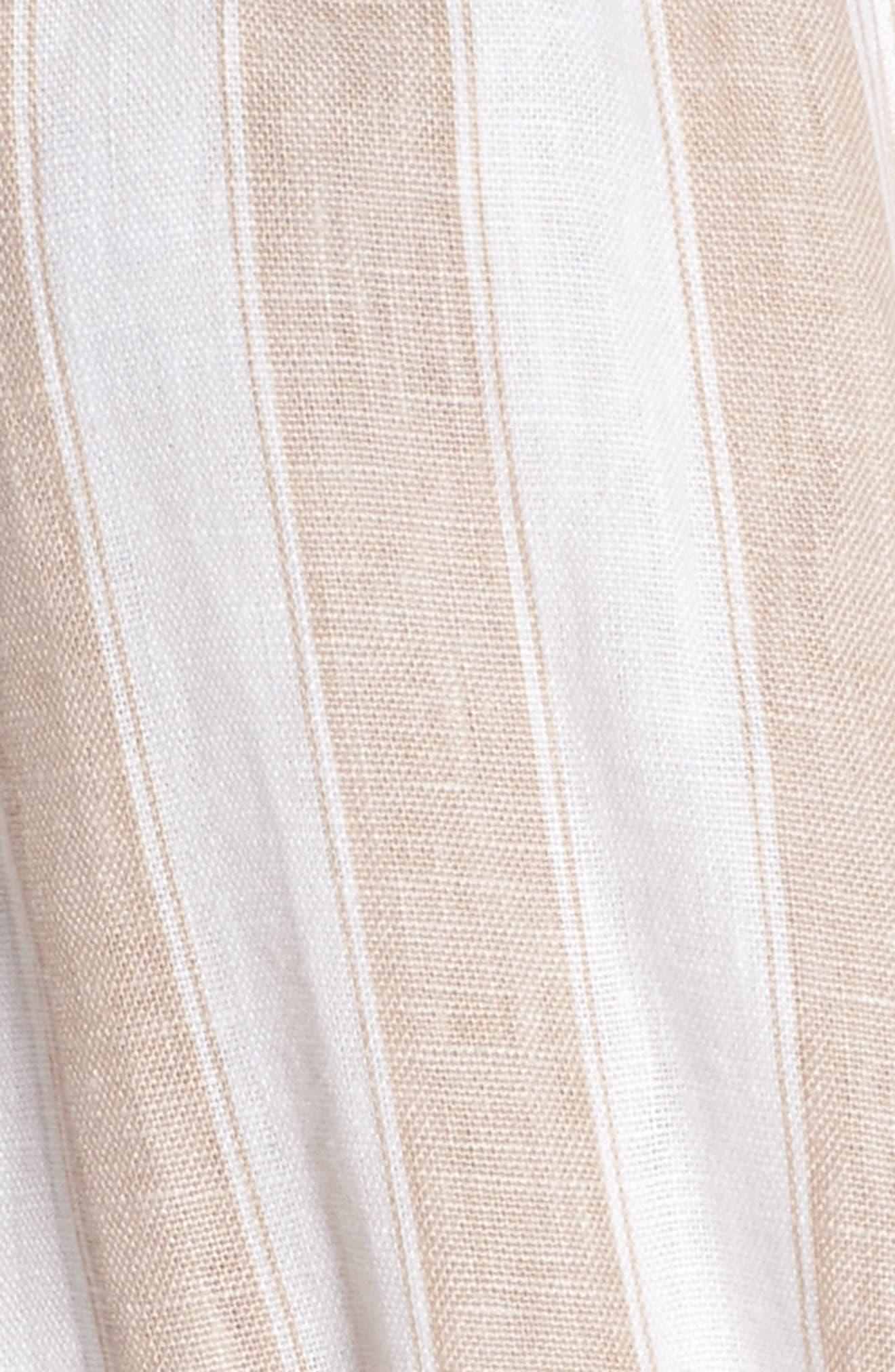 Savoy Off the Shoulder Dress,                             Alternate thumbnail 5, color,                             100