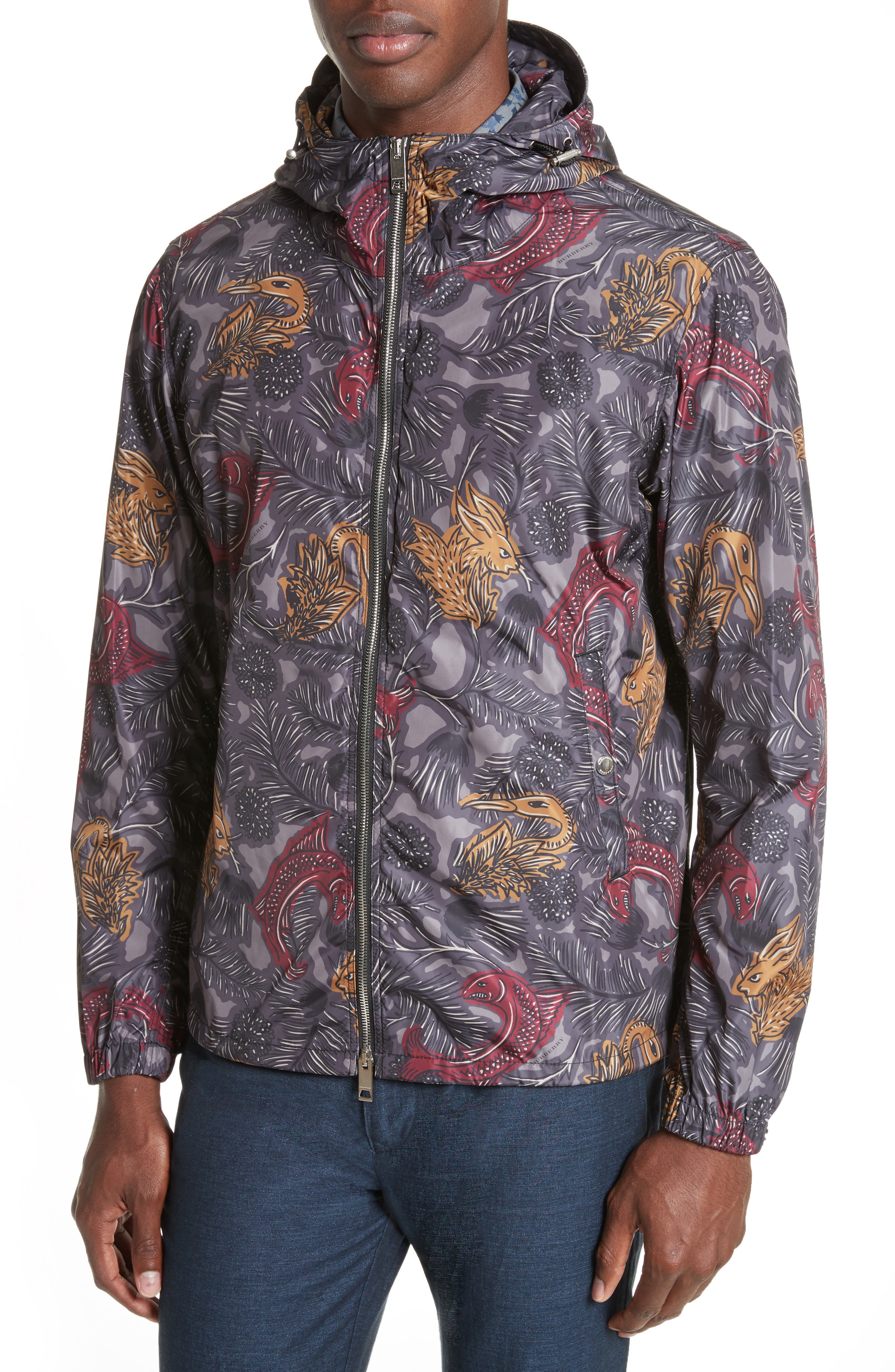 Harland Classic Fit Hooded Jacket,                             Alternate thumbnail 4, color,                             413
