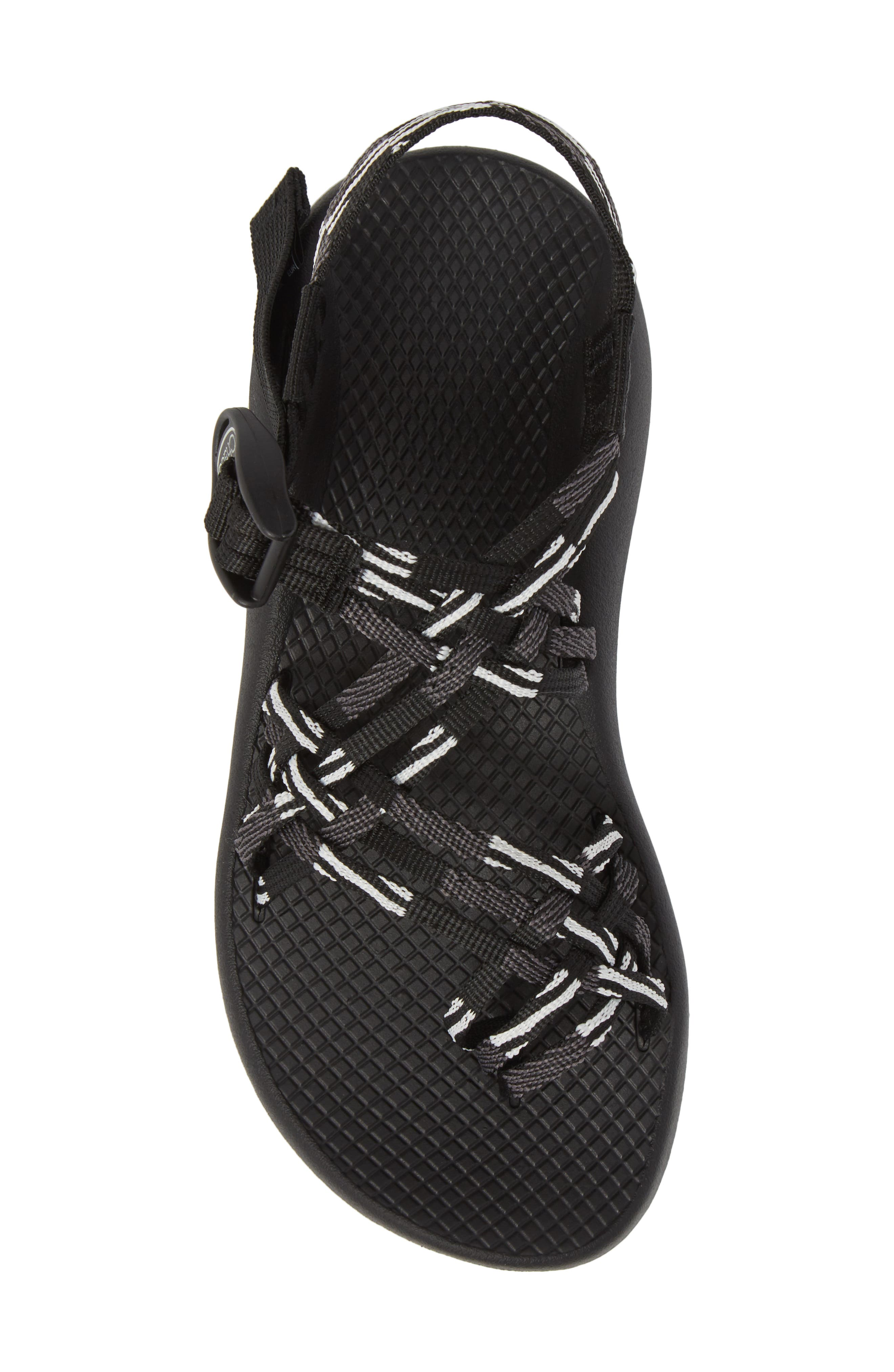 ZX/3<sup>®</sup> Classic Sandal,                             Alternate thumbnail 5, color,                             SCATTER BLACK / WHITE