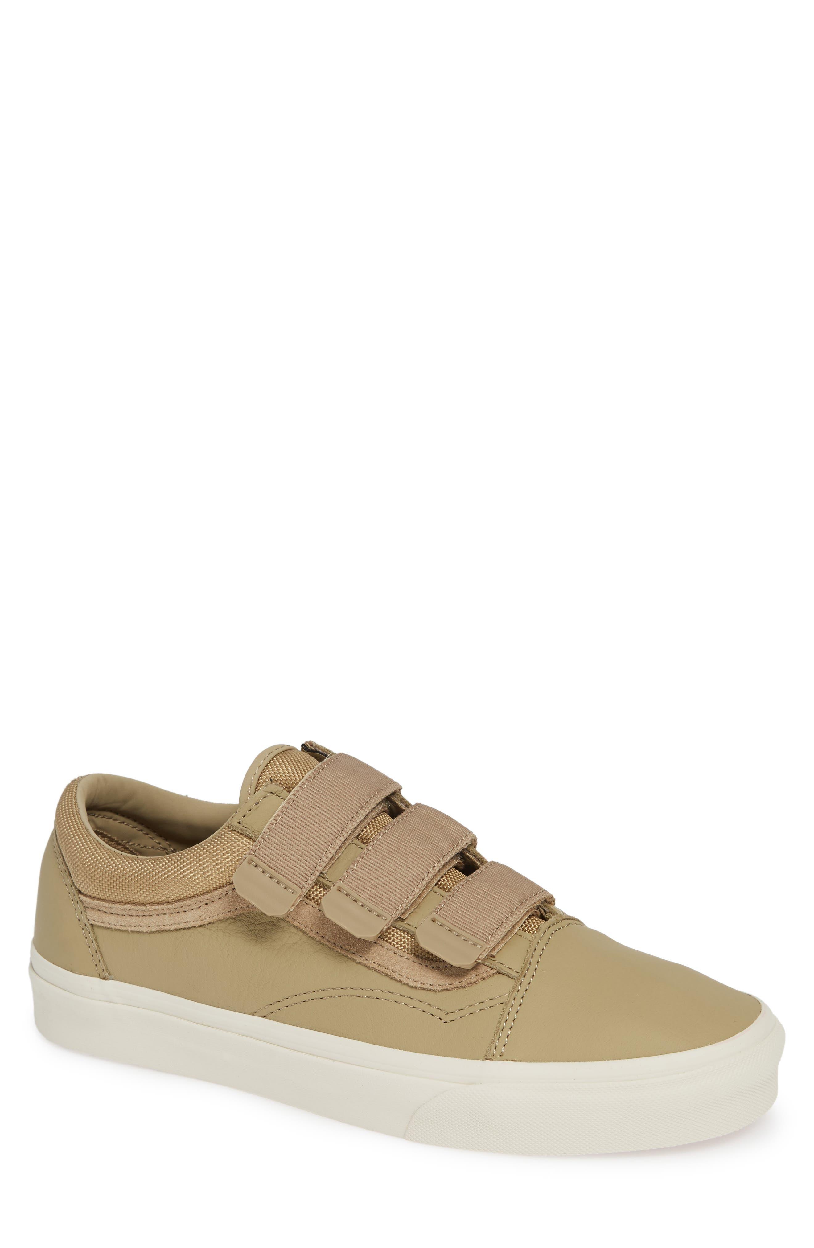 Old Skool V Sneaker,                         Main,                         color, BEIGE CORNSTALK