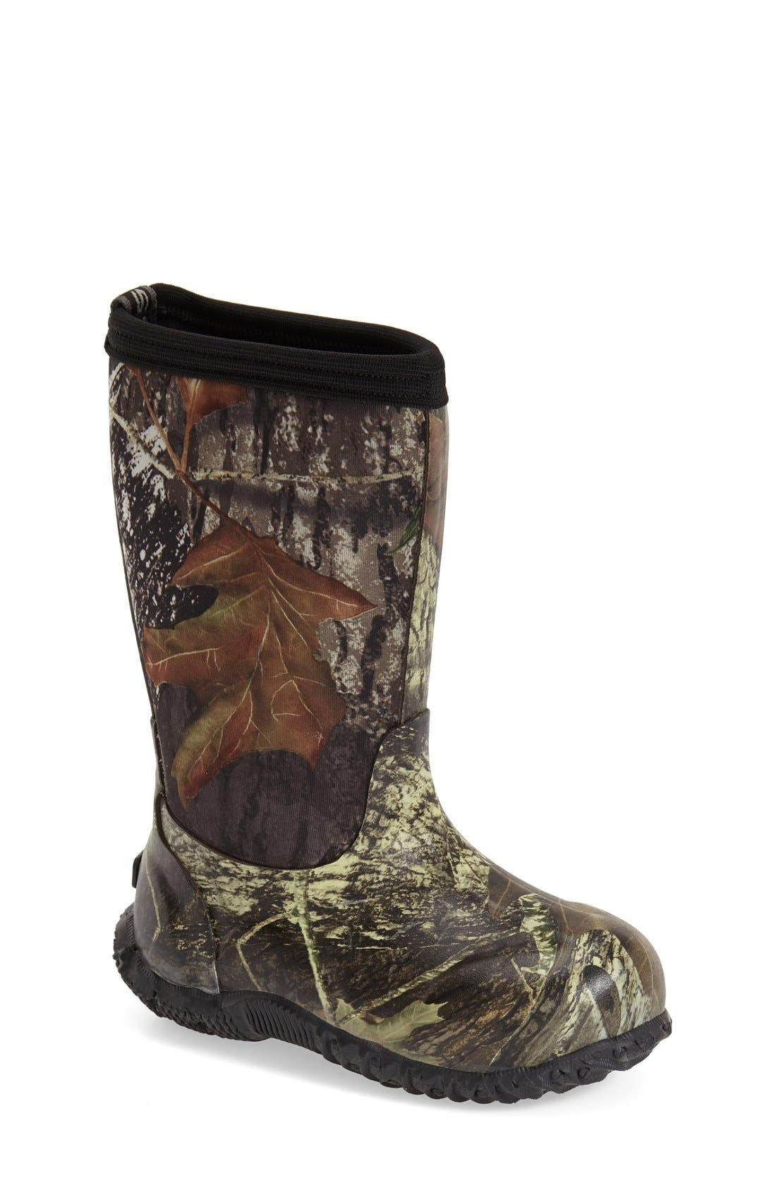 Classic High Insulated Waterproof Boot,                         Main,                         color, MOSSY OAK