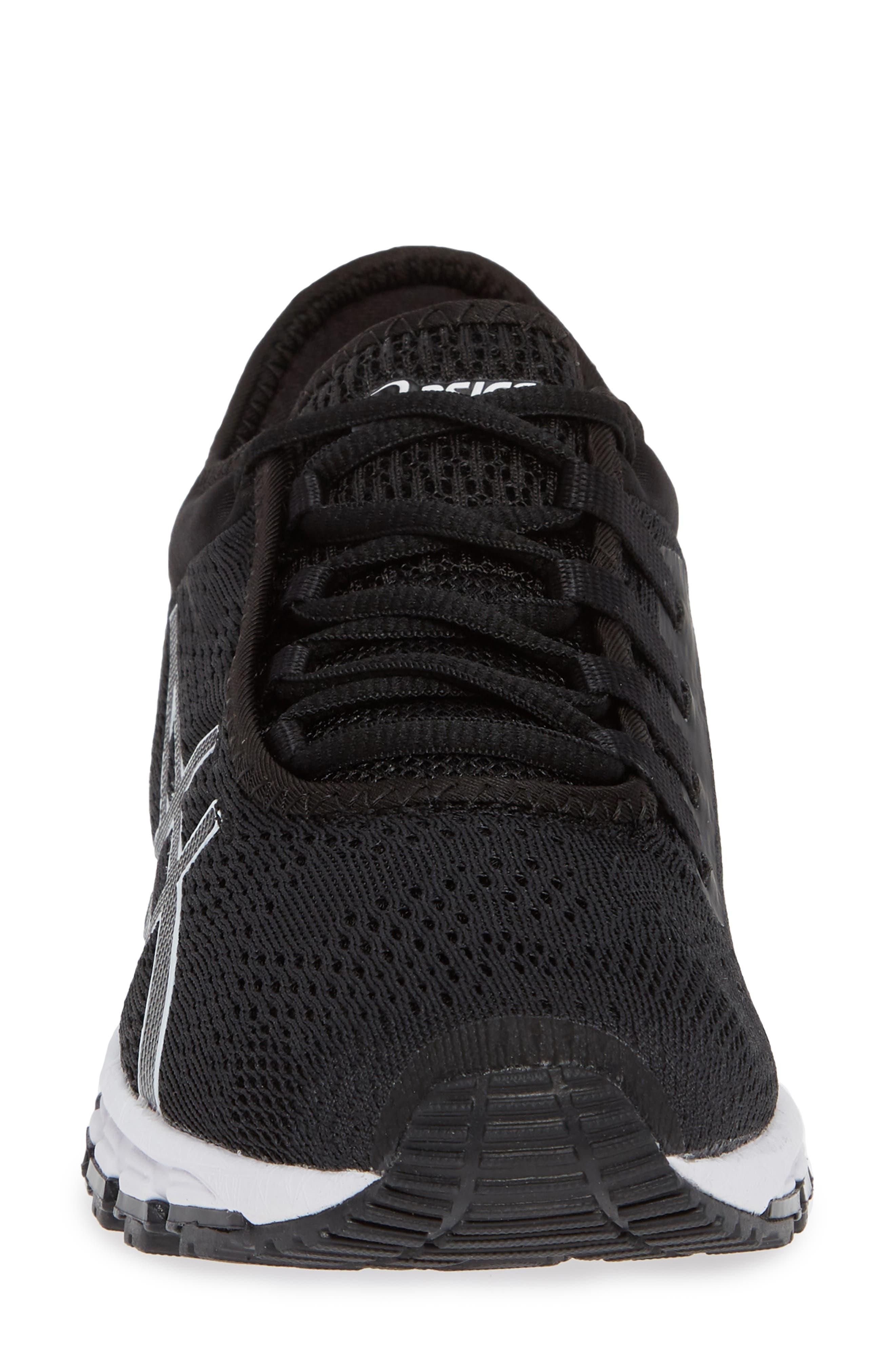 GEL Quantum 180 3 Running Shoe,                             Alternate thumbnail 4, color,                             BLACK/ WHITE