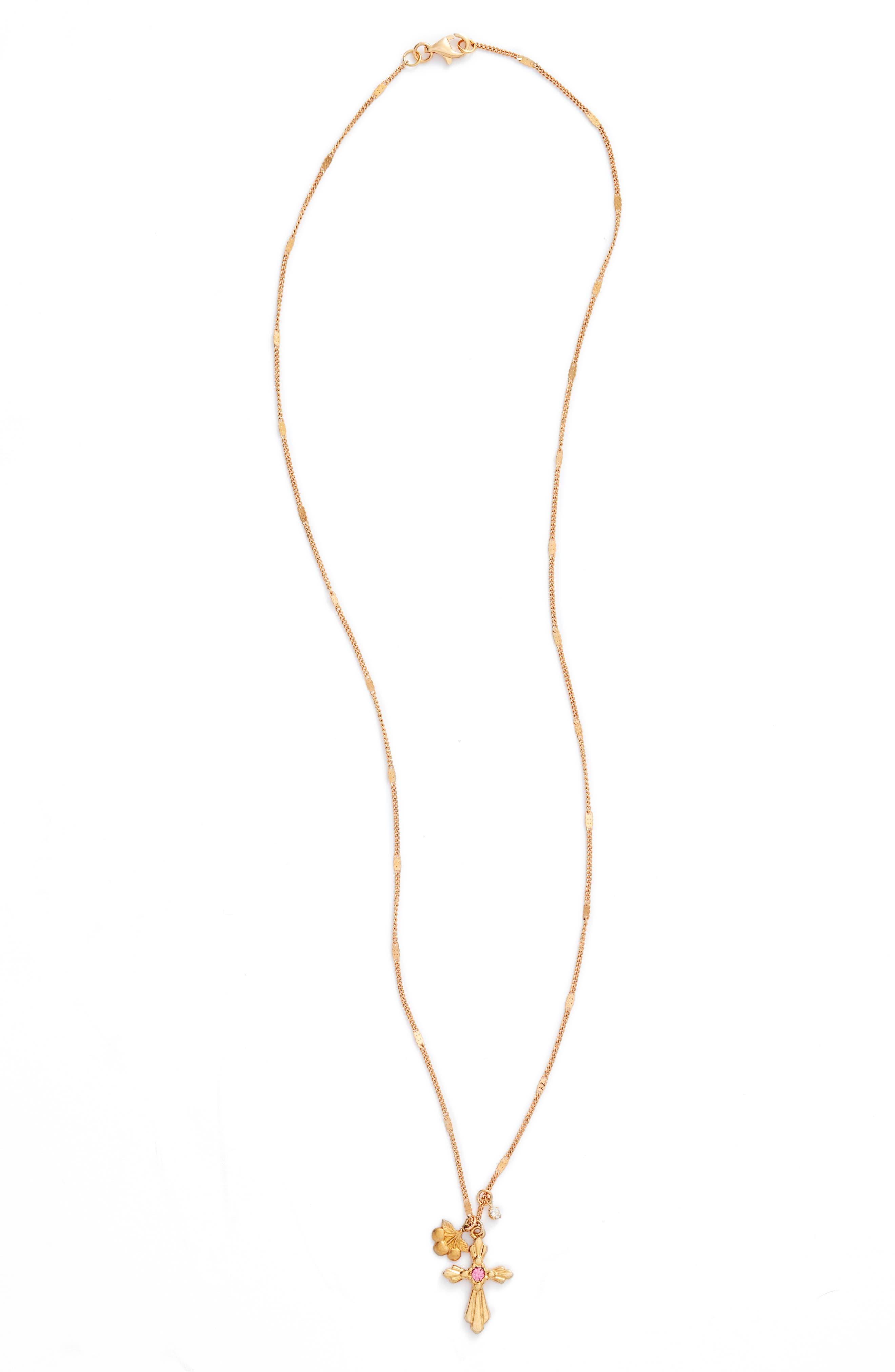 Princess Charm Necklace,                         Main,                         color, 710