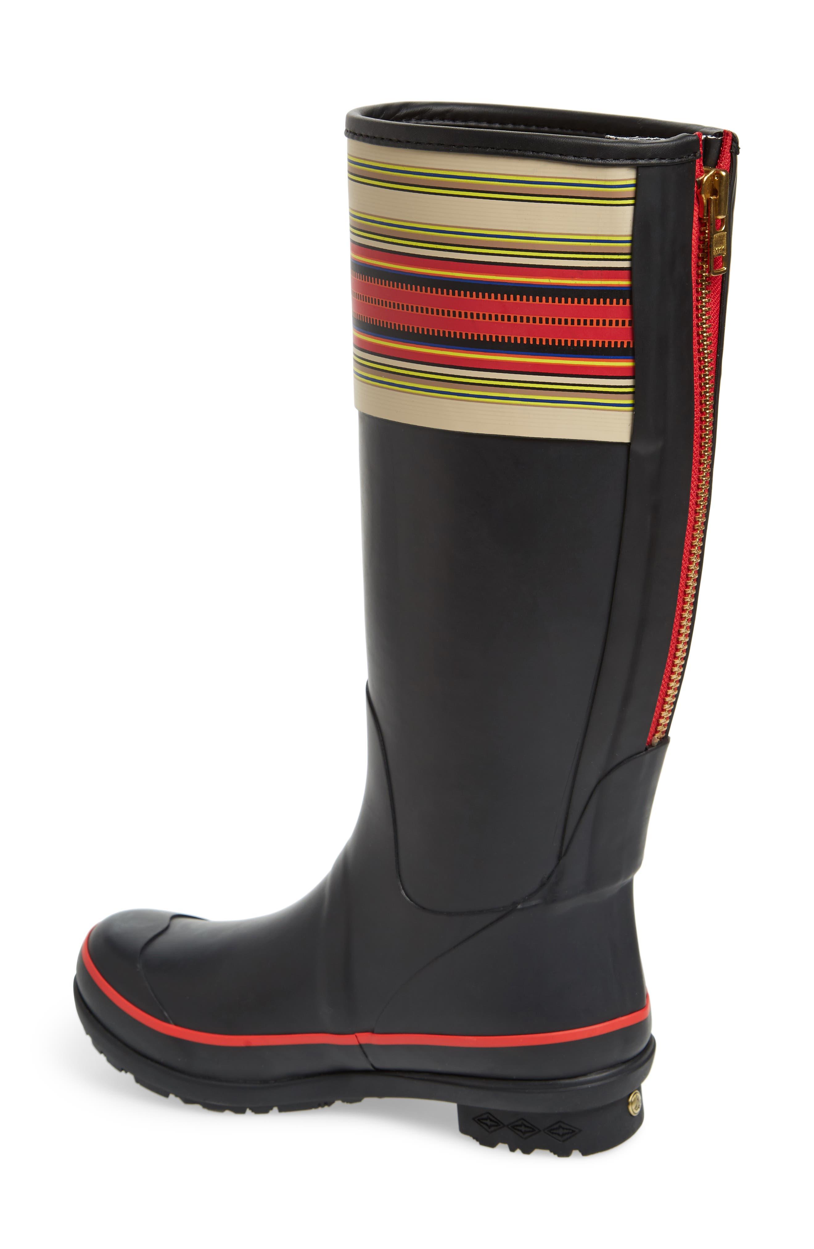 Pendleton Acadia National Park Tall Rain Boot,                             Alternate thumbnail 2, color,                             BLACK