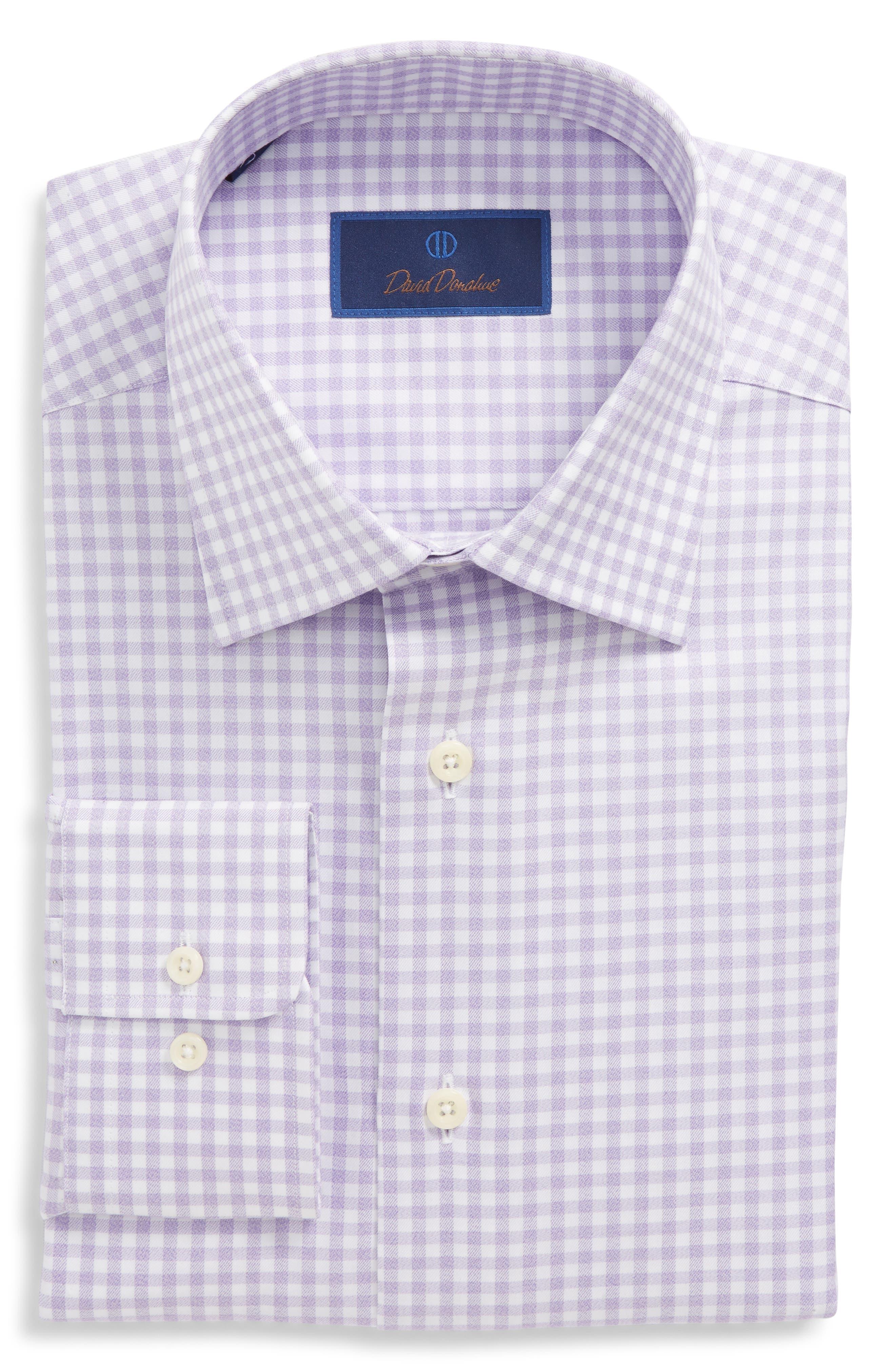 Regular Fit Check Dress Shirt,                             Main thumbnail 2, color,