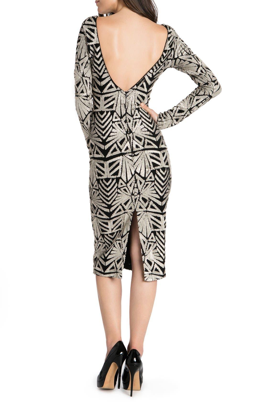 Emery Midi Dress,                             Alternate thumbnail 10, color,