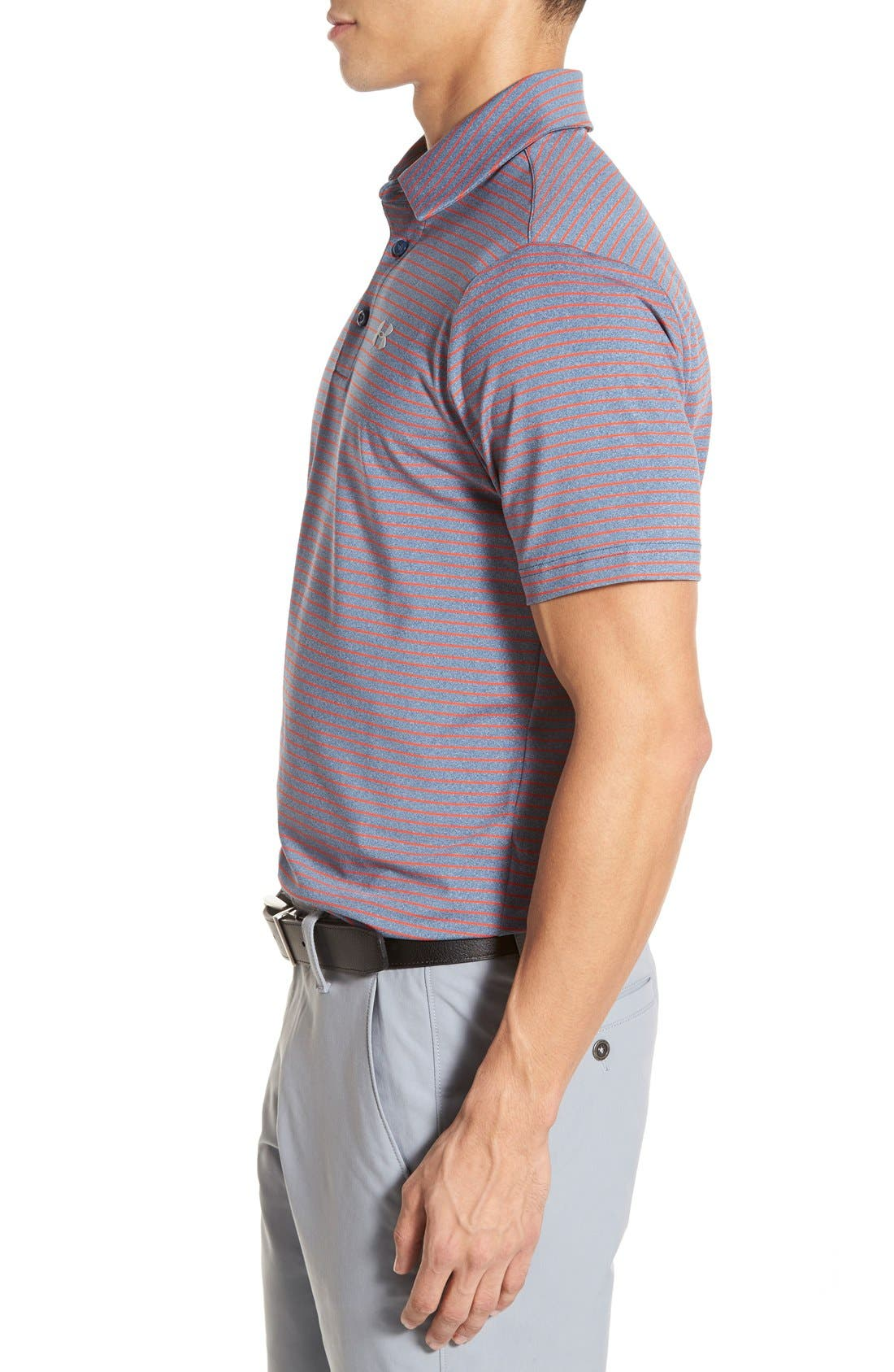 'Playoff' Loose Fit Short Sleeve Polo,                             Alternate thumbnail 151, color,