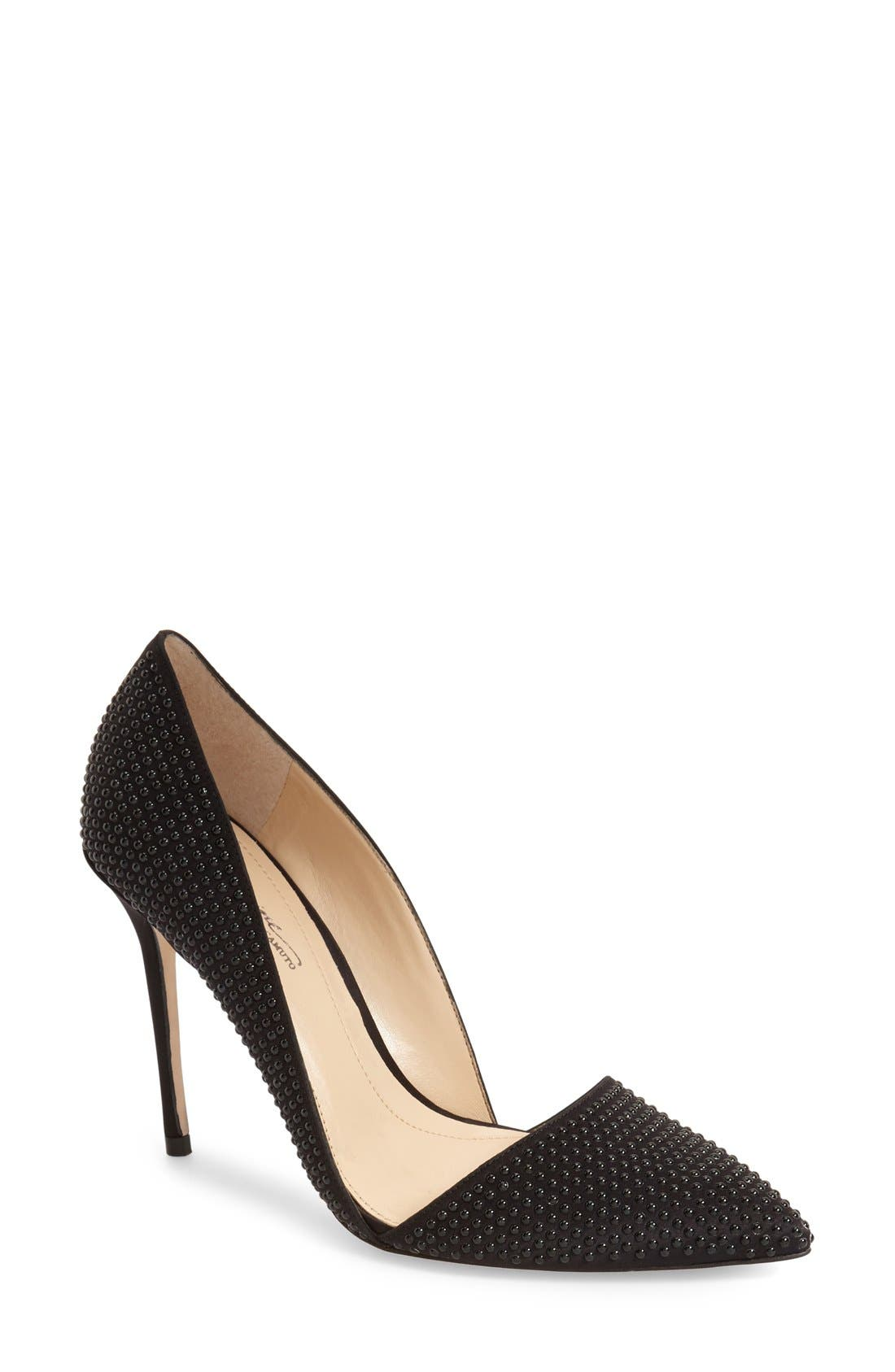 Imagine Vince Camuto 'Ossie' d'Orsay Pump,                             Main thumbnail 1, color,                             001