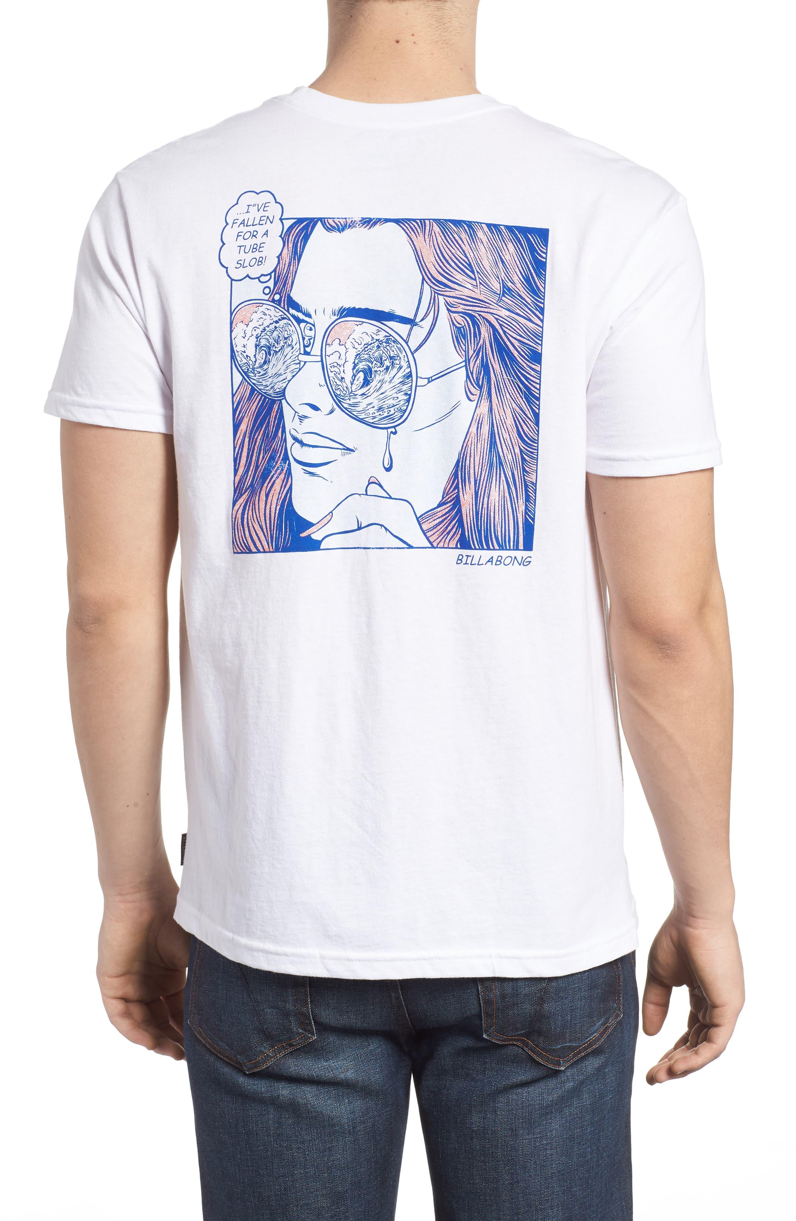 Tube Slob Graphic T-Shirt,                             Alternate thumbnail 2, color,