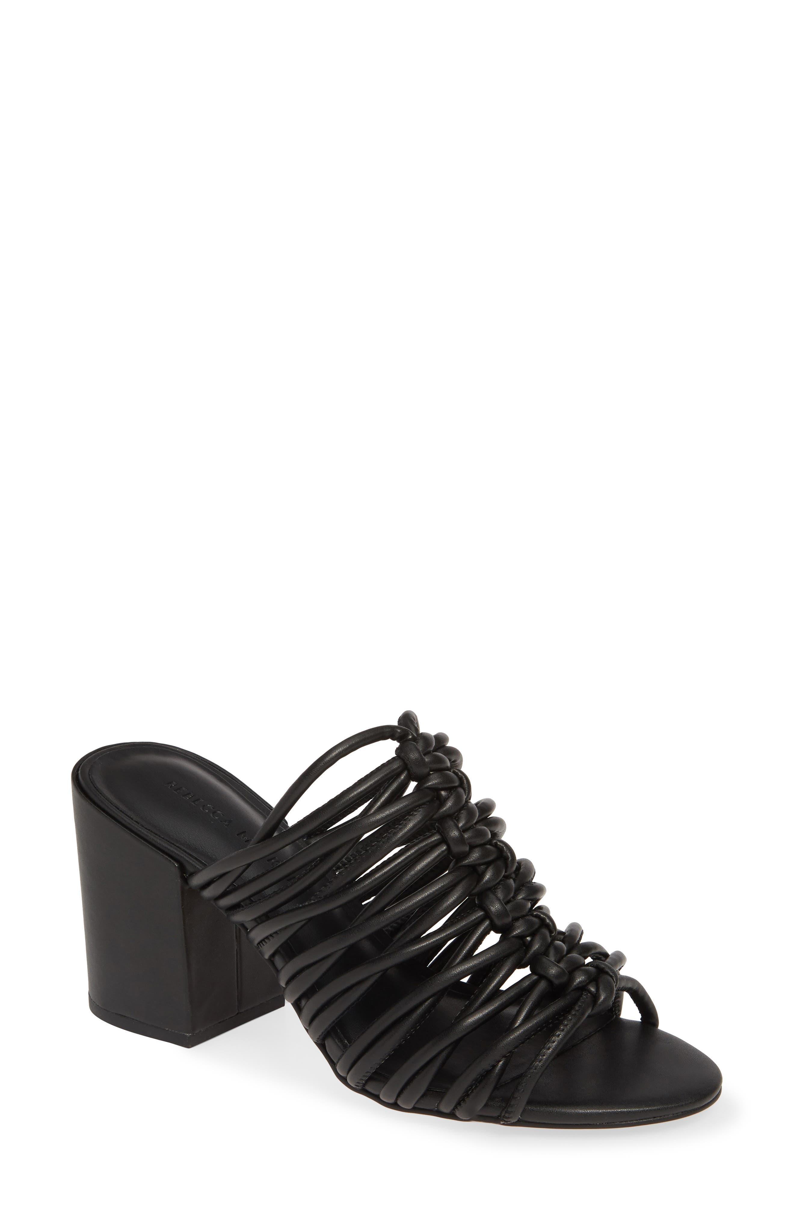 Rebecca Minkoff Calanthe Slide Sandal, Black