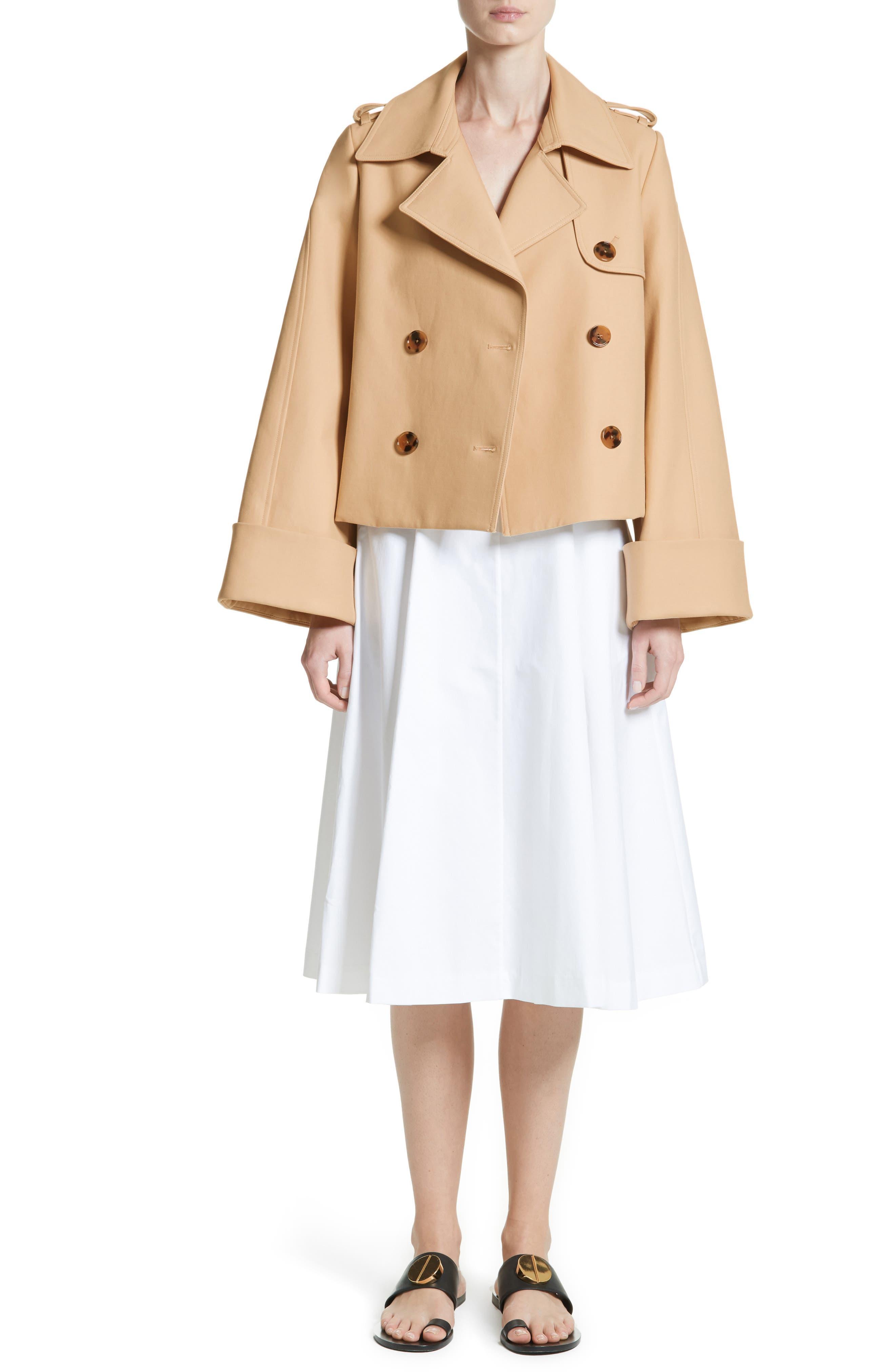 Cindy Poplin Tank Dress,                             Alternate thumbnail 7, color,                             100