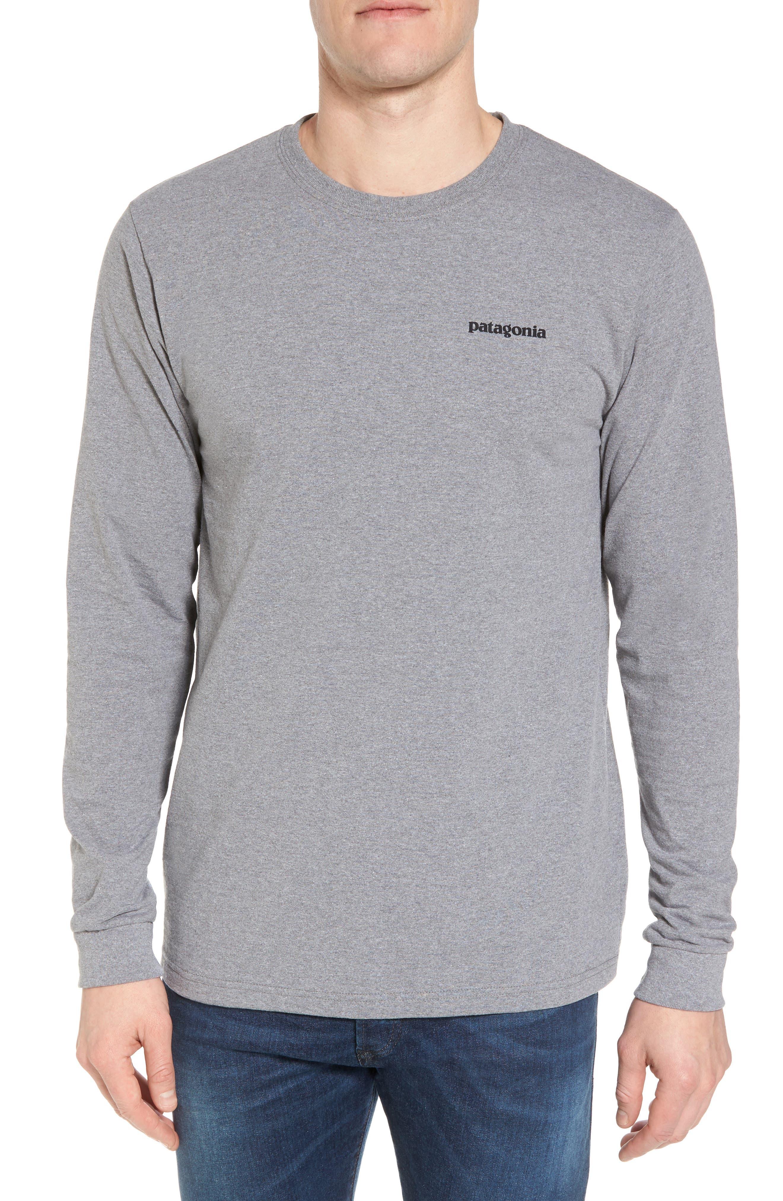 Patagonia Responsibili-Tee Long Sleeve T-Shirt, Grey