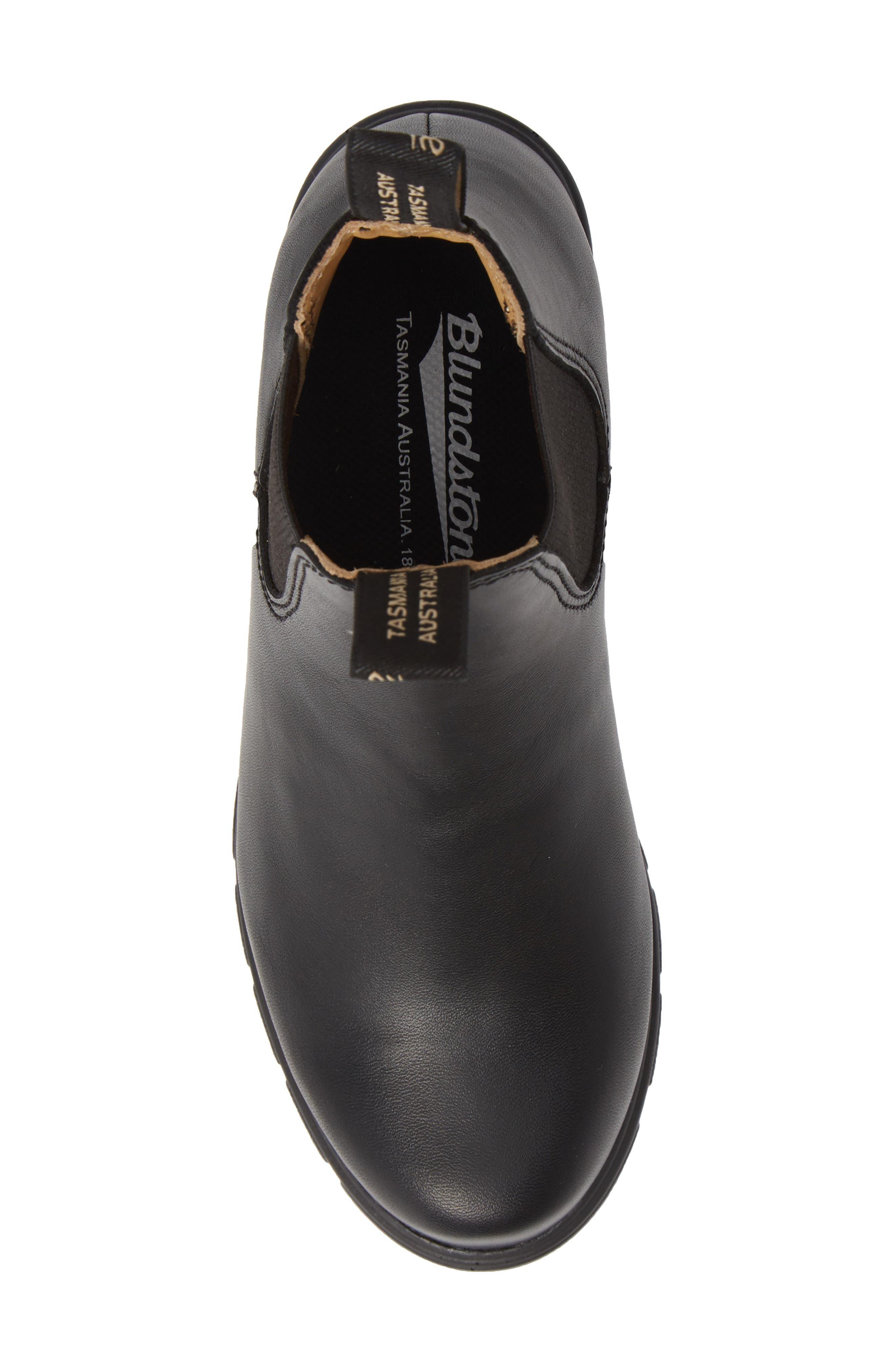 1671 Chelsea Boot,                             Alternate thumbnail 5, color,                             BLACK LEATHER
