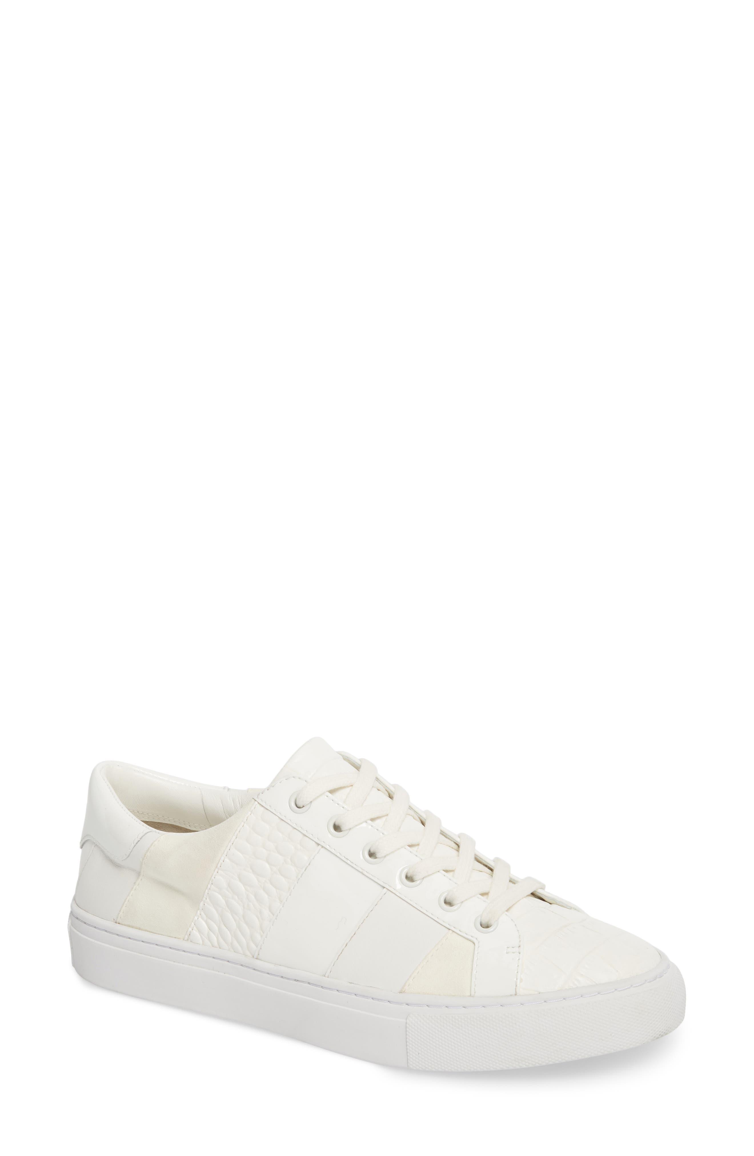 Ames Sneaker,                         Main,                         color, SNOW WHITE