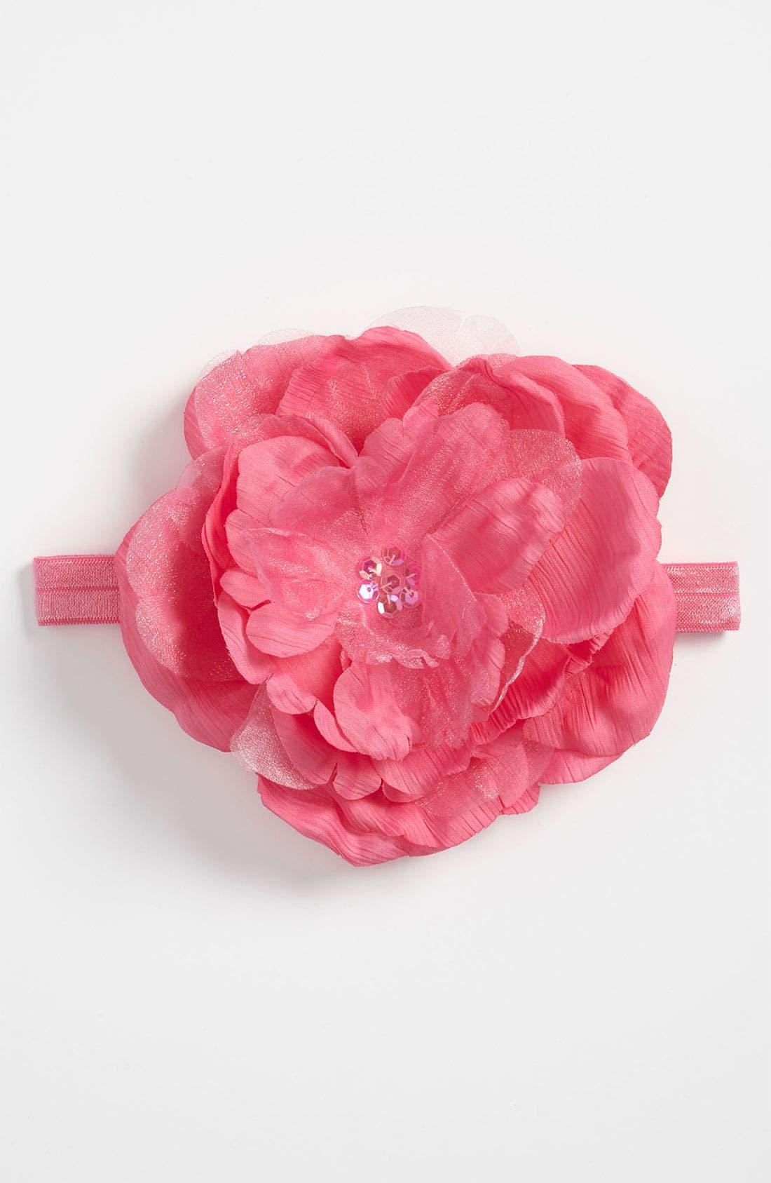 Flower Headband,                             Main thumbnail 4, color,