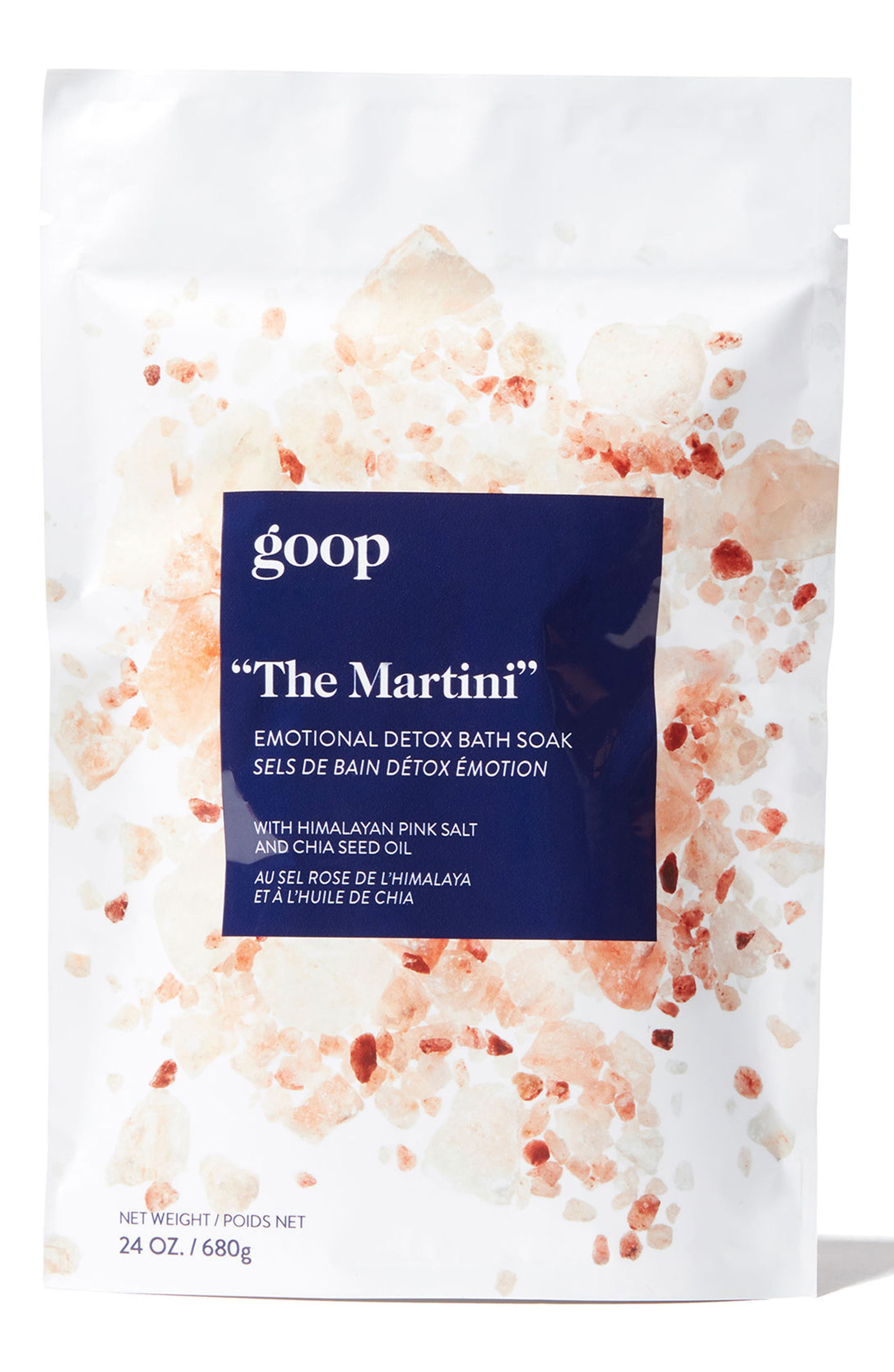 GOOP,                             The Martini Emotional Detox Bath Soak,                             Main thumbnail 1, color,                             000