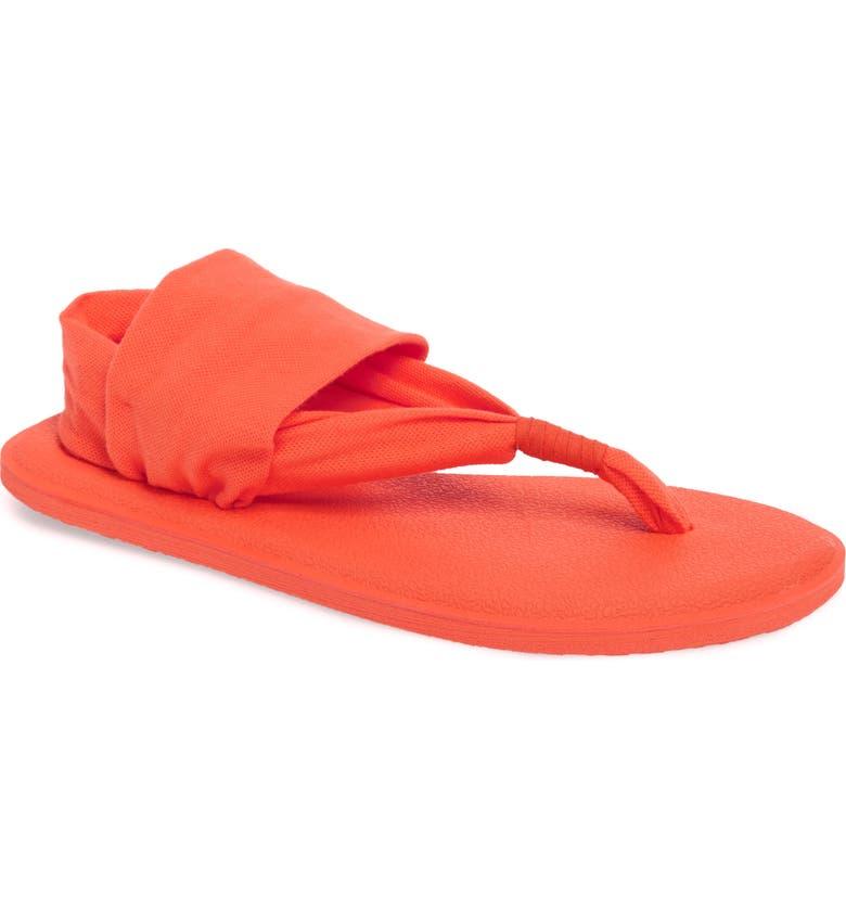 b69d1da3d437 Sanuk  Yoga Sling Burst  Sandal (Toddler