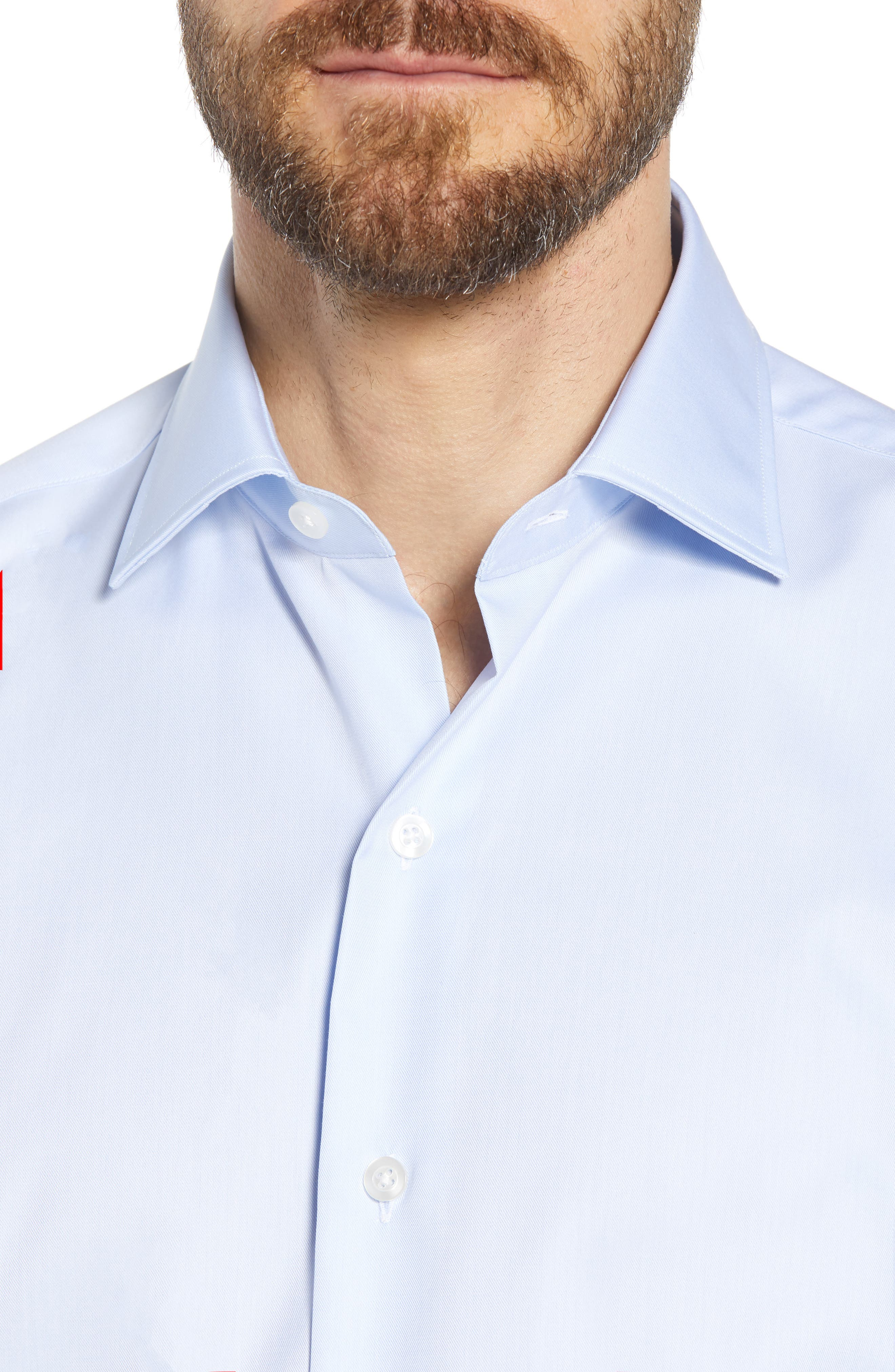 Crease Free Extra Soft Sport Shirt,                             Alternate thumbnail 4, color,