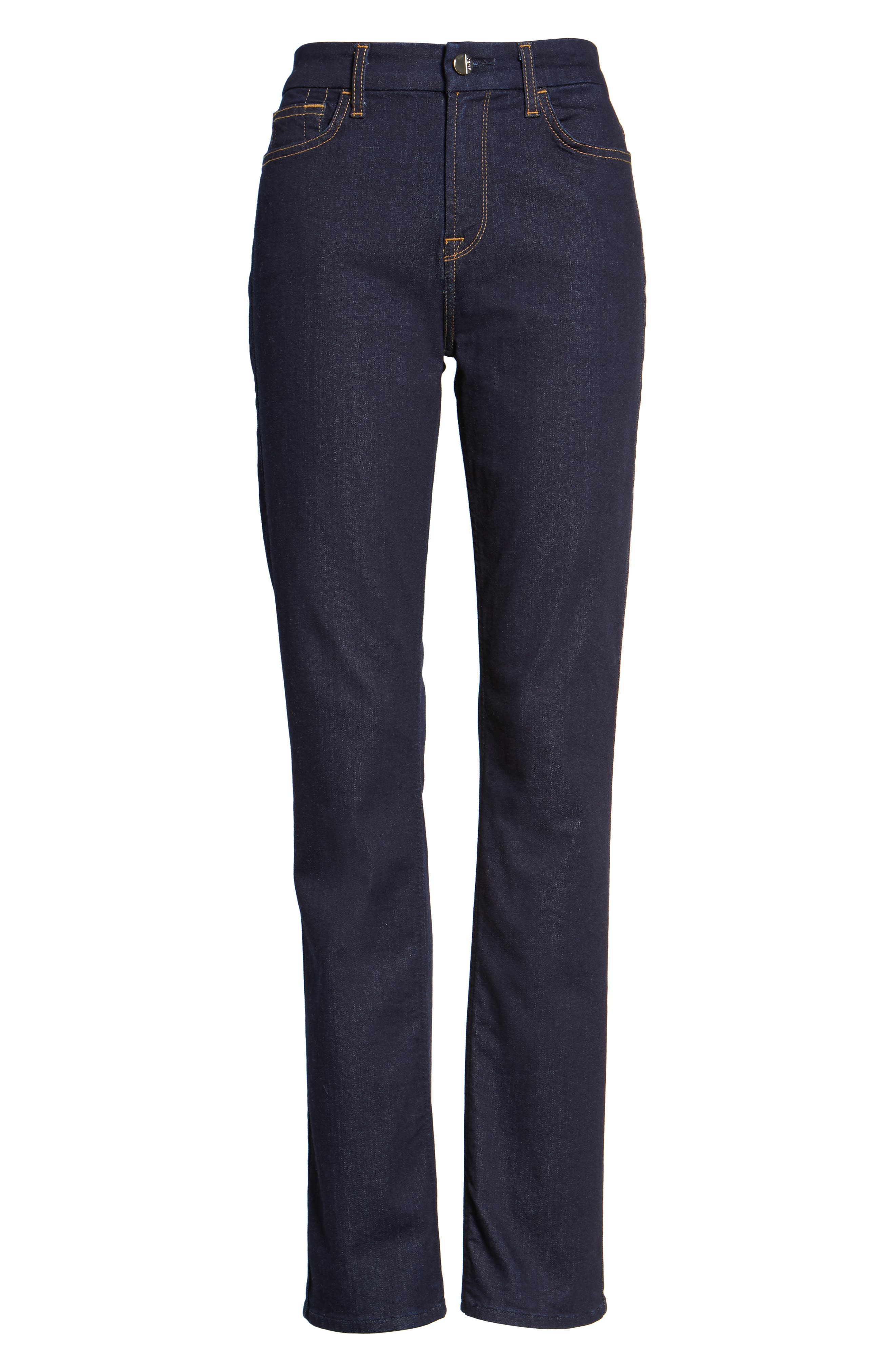 Stretch Slim Straight Leg Jeans,                             Alternate thumbnail 6, color,                             403