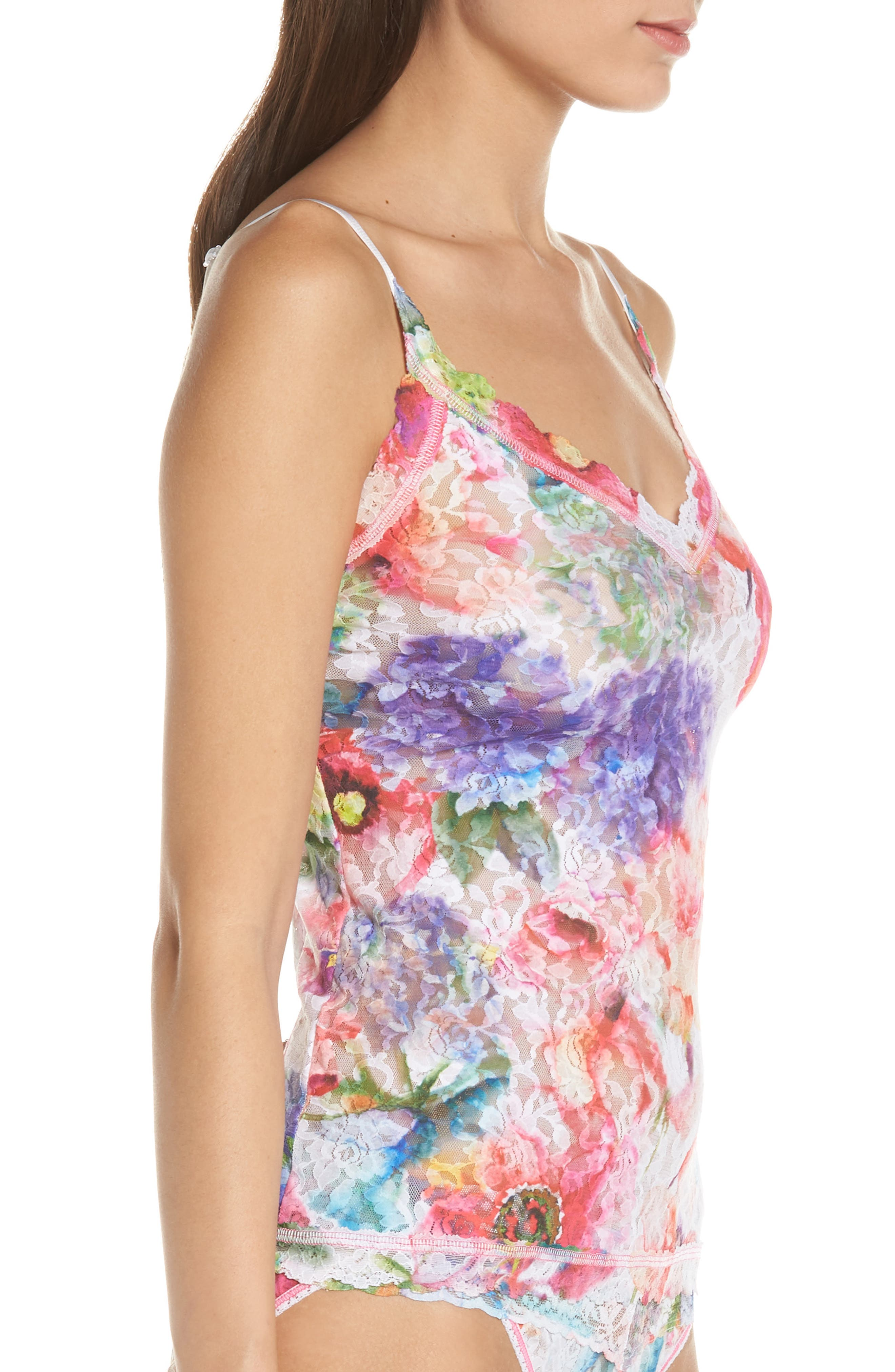 Impressionista Camisole,                             Alternate thumbnail 3, color,                             WHITE/ MULTI