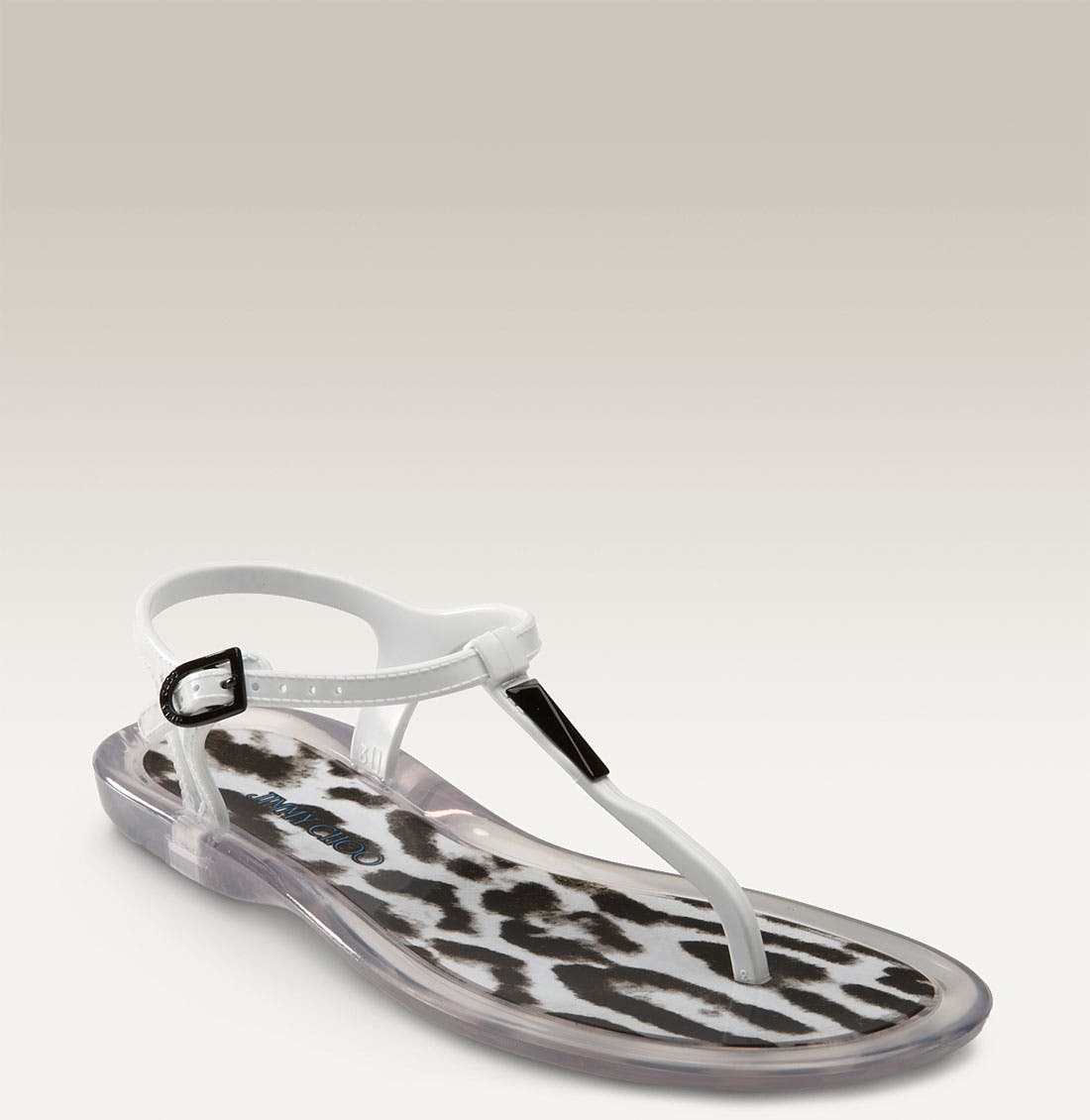 'Maui' Jelly Thong Sandal,                             Main thumbnail 1, color,                             001