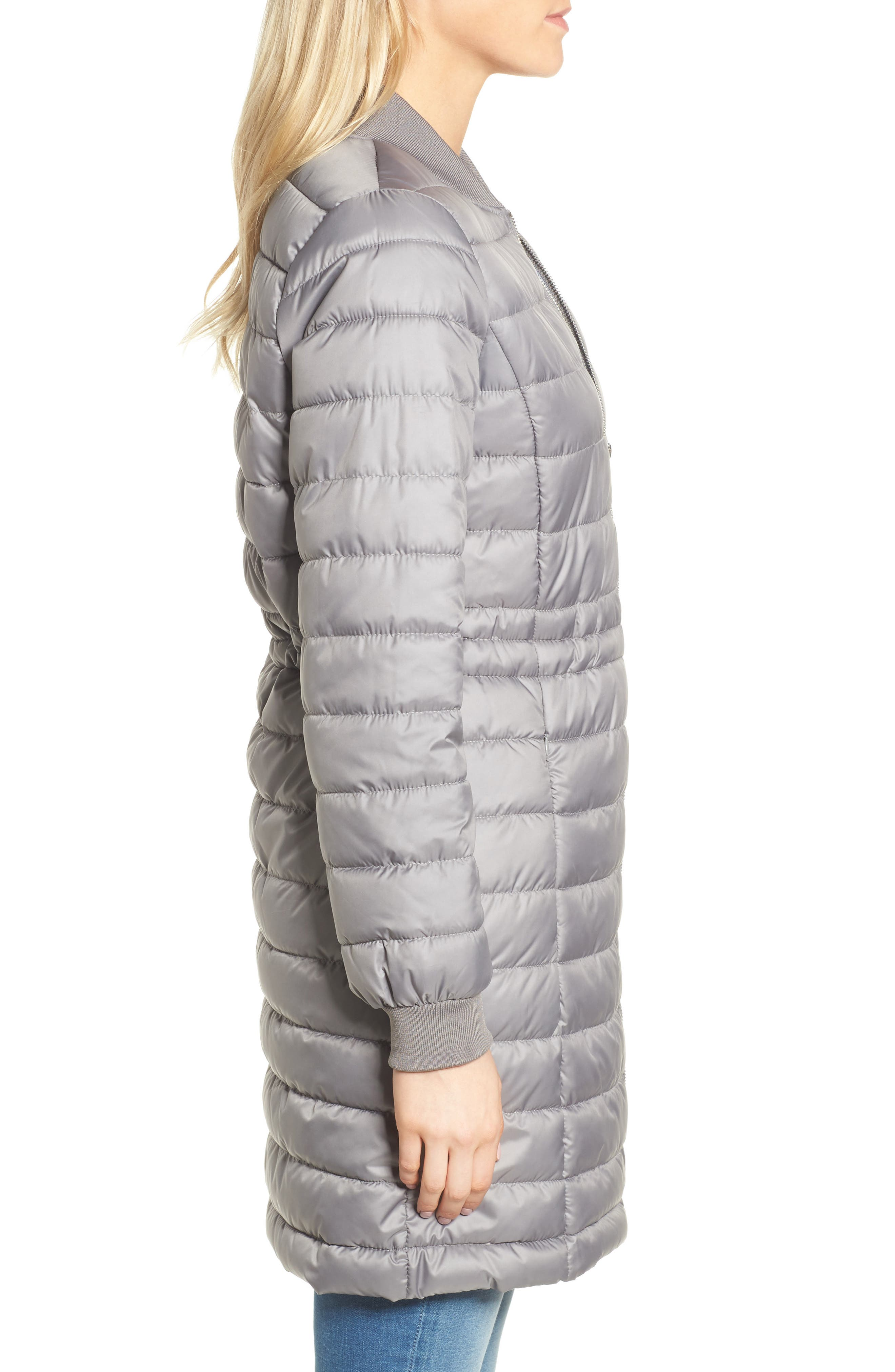 Lightweight Quilted Puffer Coat,                             Alternate thumbnail 10, color,