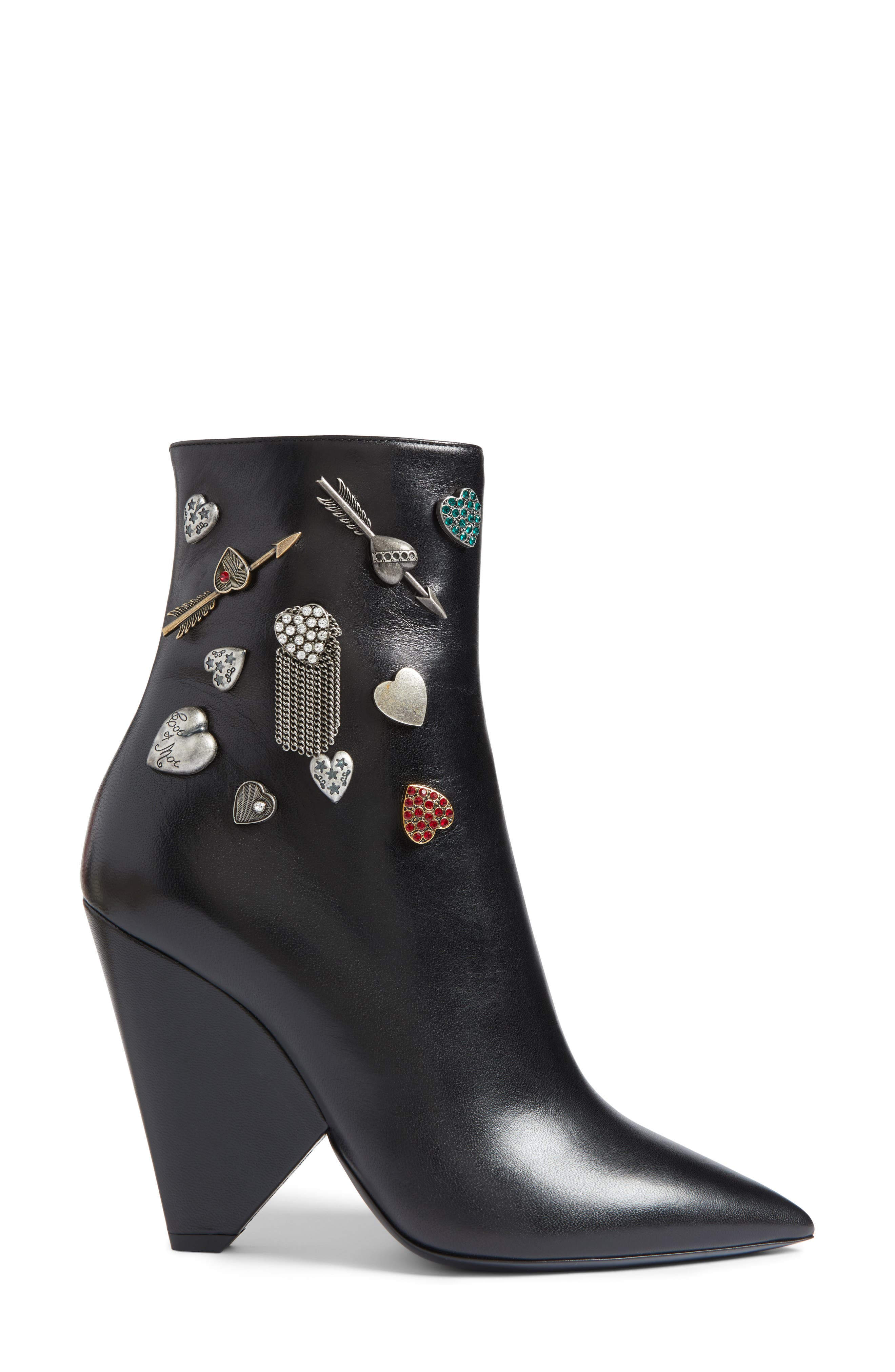 Charm Bootie,                             Alternate thumbnail 3, color,                             001