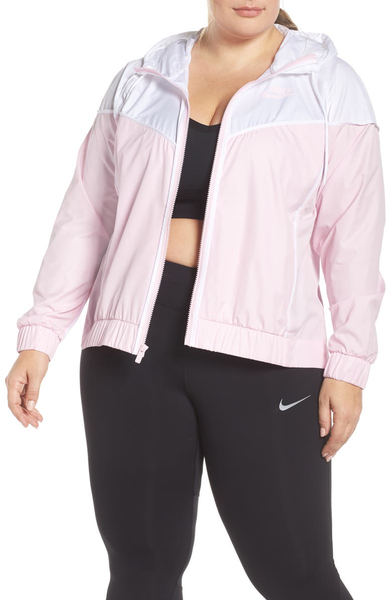 separation shoes fd16c f7231 NIKE Sportswear Windrunner Jacket, Main, color, PINK FOAM WHITE PINK FOAM