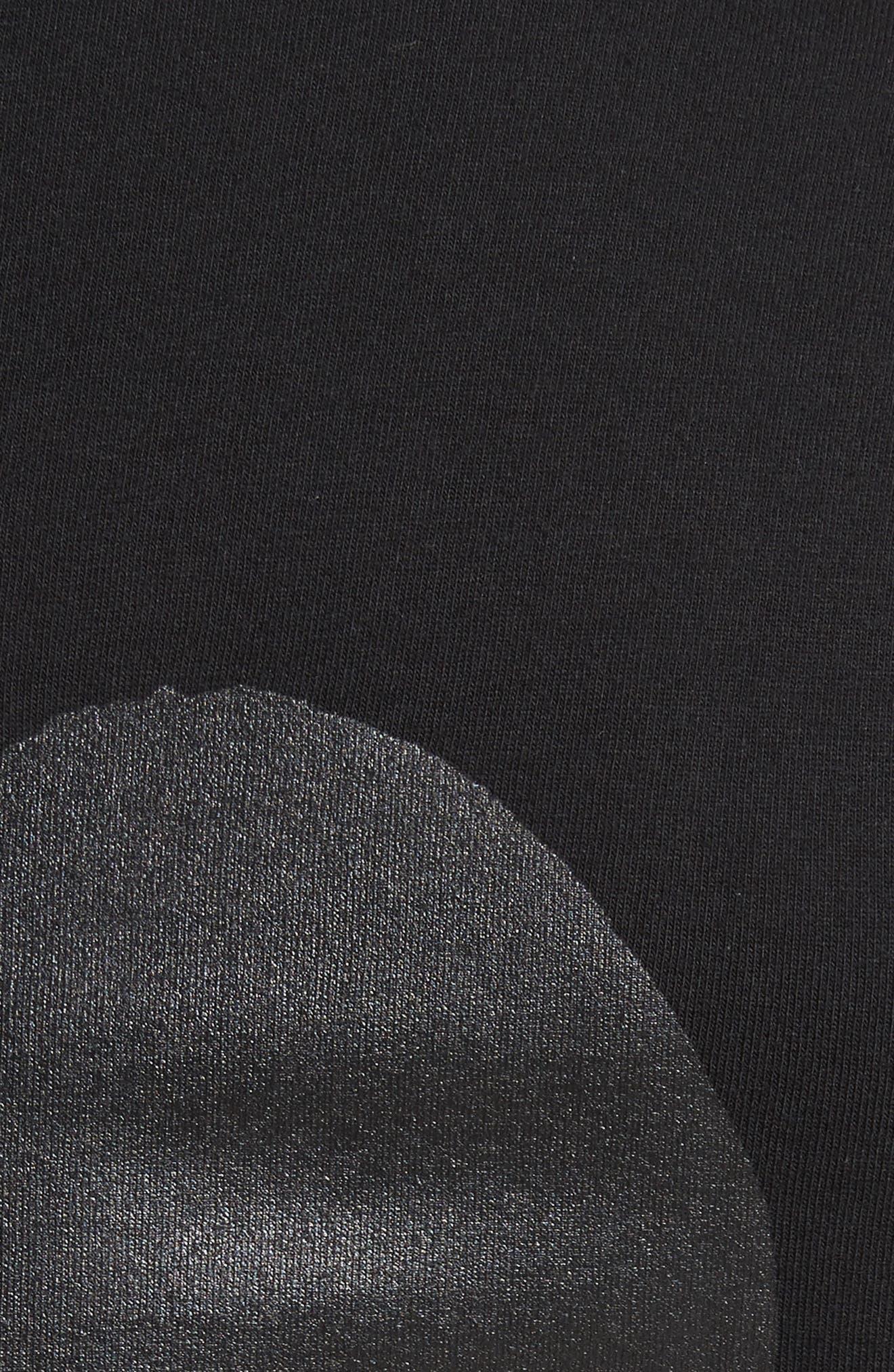COMME DES GARÇONS PLAY,                             Graphic T-Shirt,                             Alternate thumbnail 5, color,                             BLACK