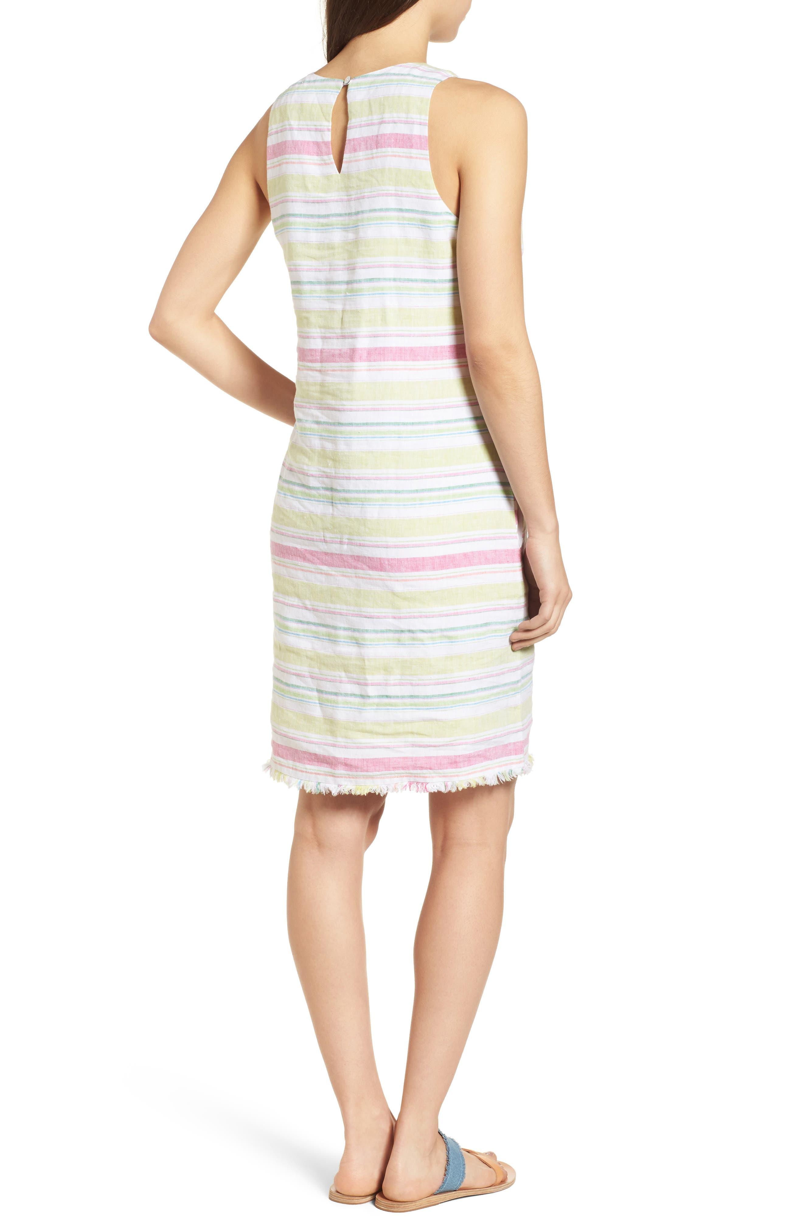 Tulum Stripe Shift Dress,                             Alternate thumbnail 2, color,                             700