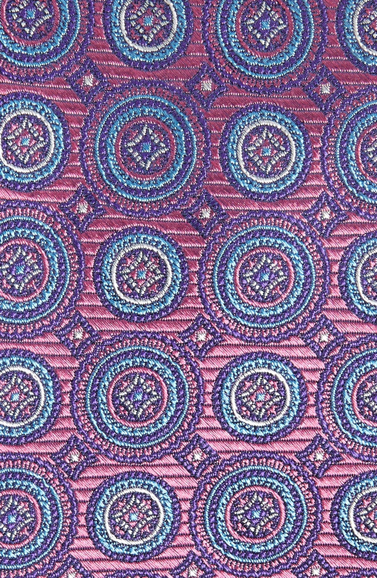 Santa Lucia Circles Silk Tie,                             Alternate thumbnail 2, color,                             510