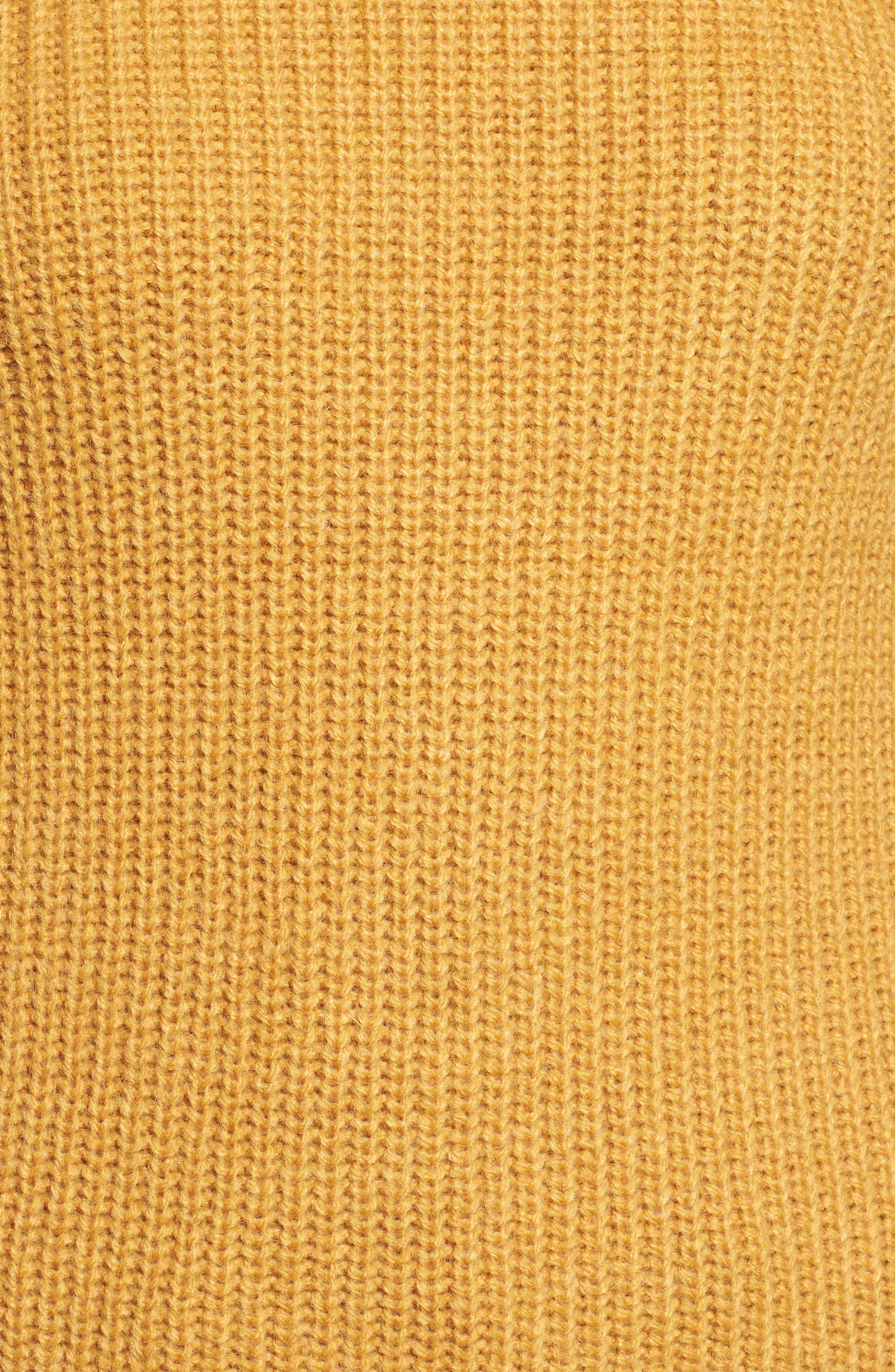 Twist Sleeve Sweater,                             Alternate thumbnail 14, color,