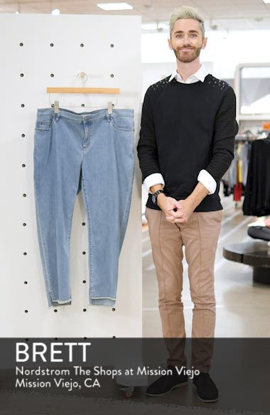 Fray Step Hem Ankle Skinny Jeans, sales video thumbnail