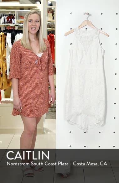 Lace High/Low Sheath Dress, sales video thumbnail
