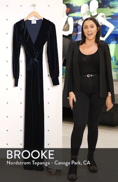 Julie Print Ruffle Jumpsuit, sales video thumbnail