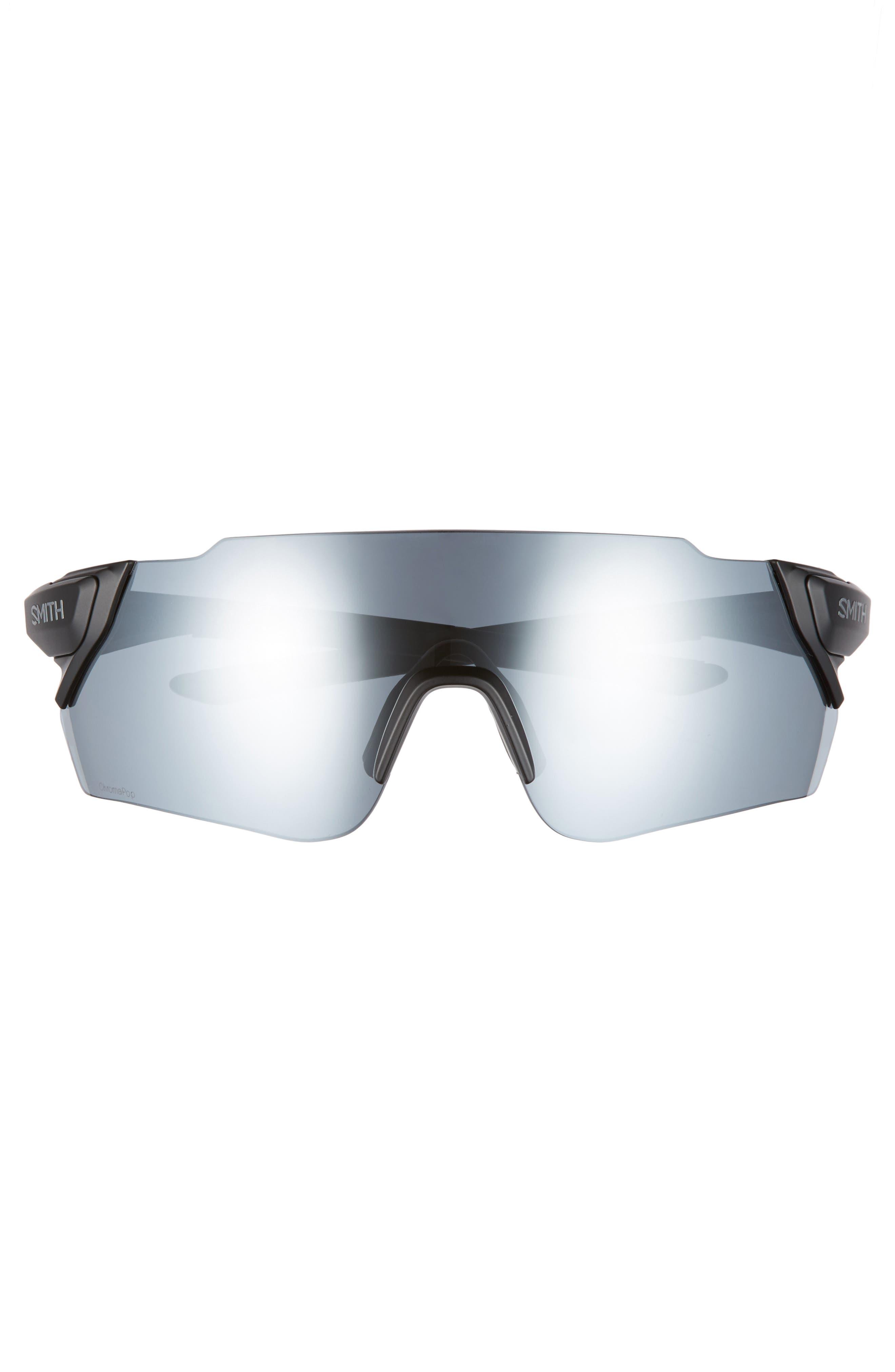 Attack Max 125mm ChromaPop<sup>™</sup> Polarized Shield Sunglasses,                             Alternate thumbnail 4, color,                             002
