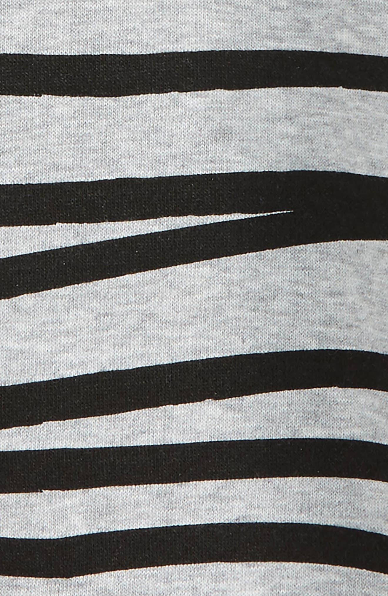 Relaxed Stripe Sweatshirt,                             Alternate thumbnail 2, color,