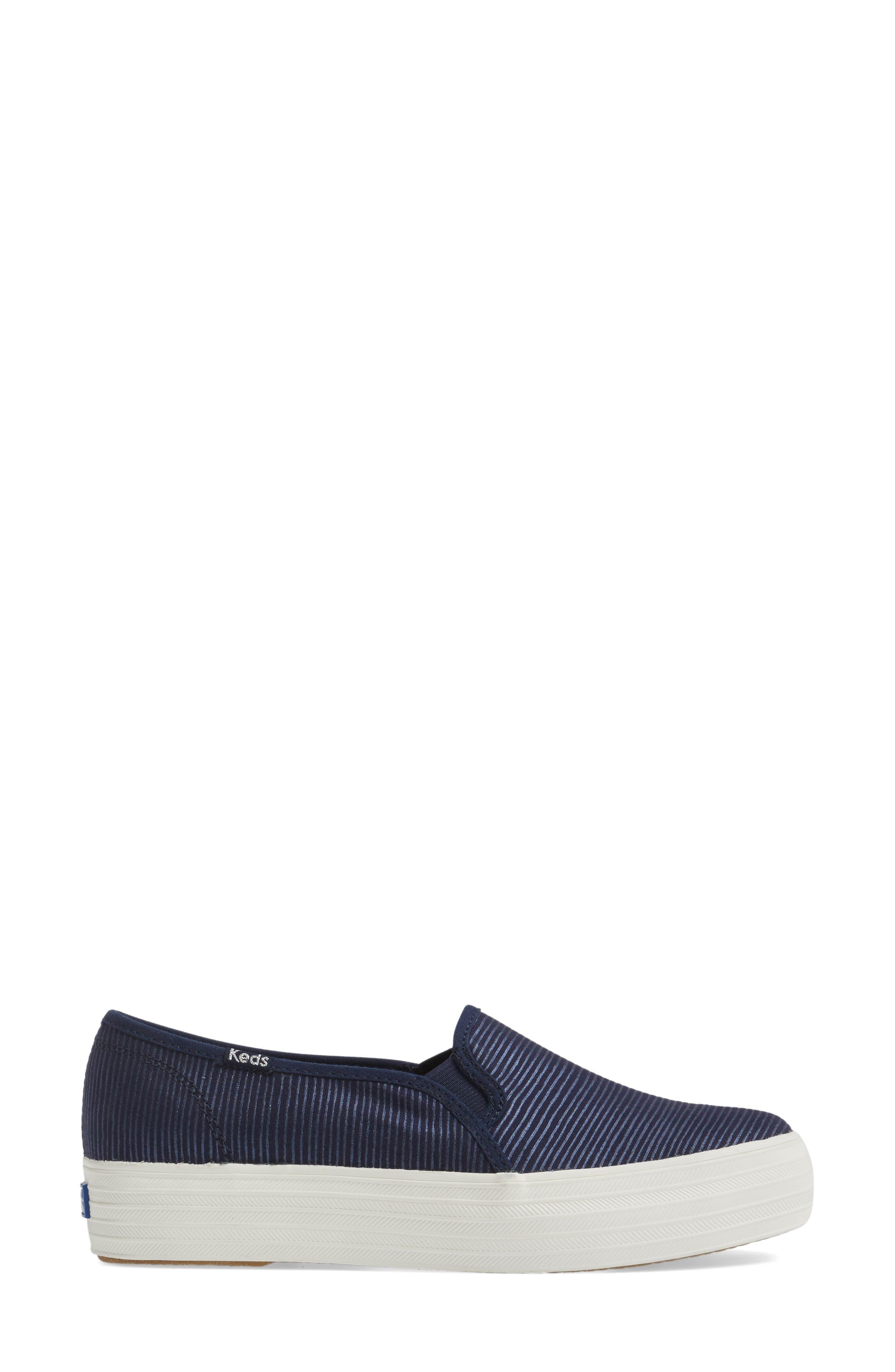 Triple Decker Slip-On Platform Sneaker,                             Alternate thumbnail 25, color,