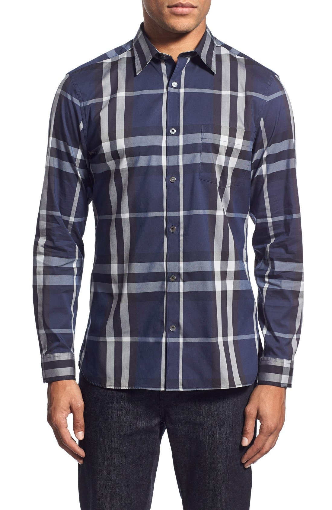 Nelson Check Sport Shirt,                             Main thumbnail 16, color,